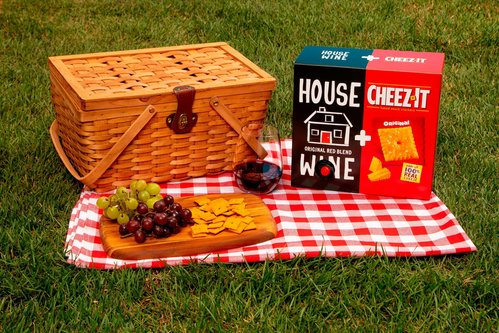 Image for Cheez-It and a boxed wine company are teaming up. Here's why