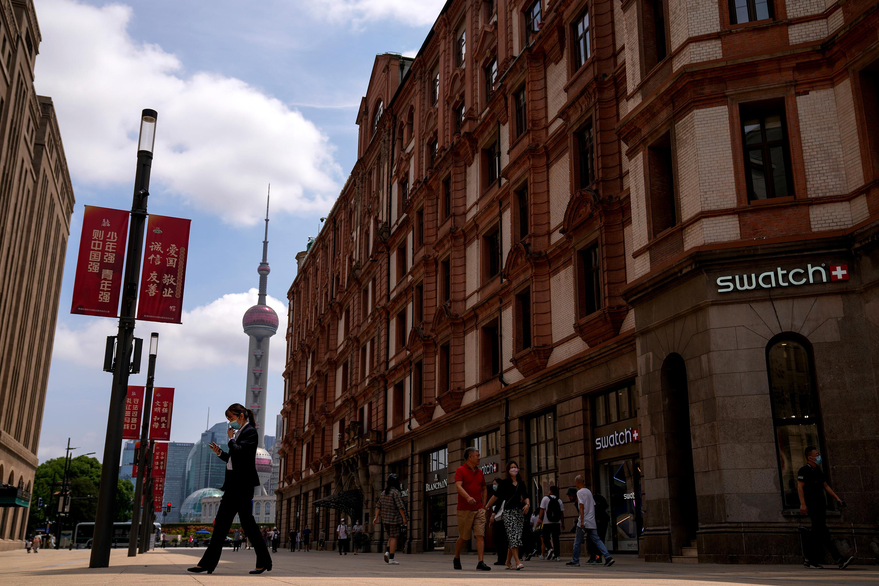 The Delta variant has hit China's economy hard. Now a property crunch is looming