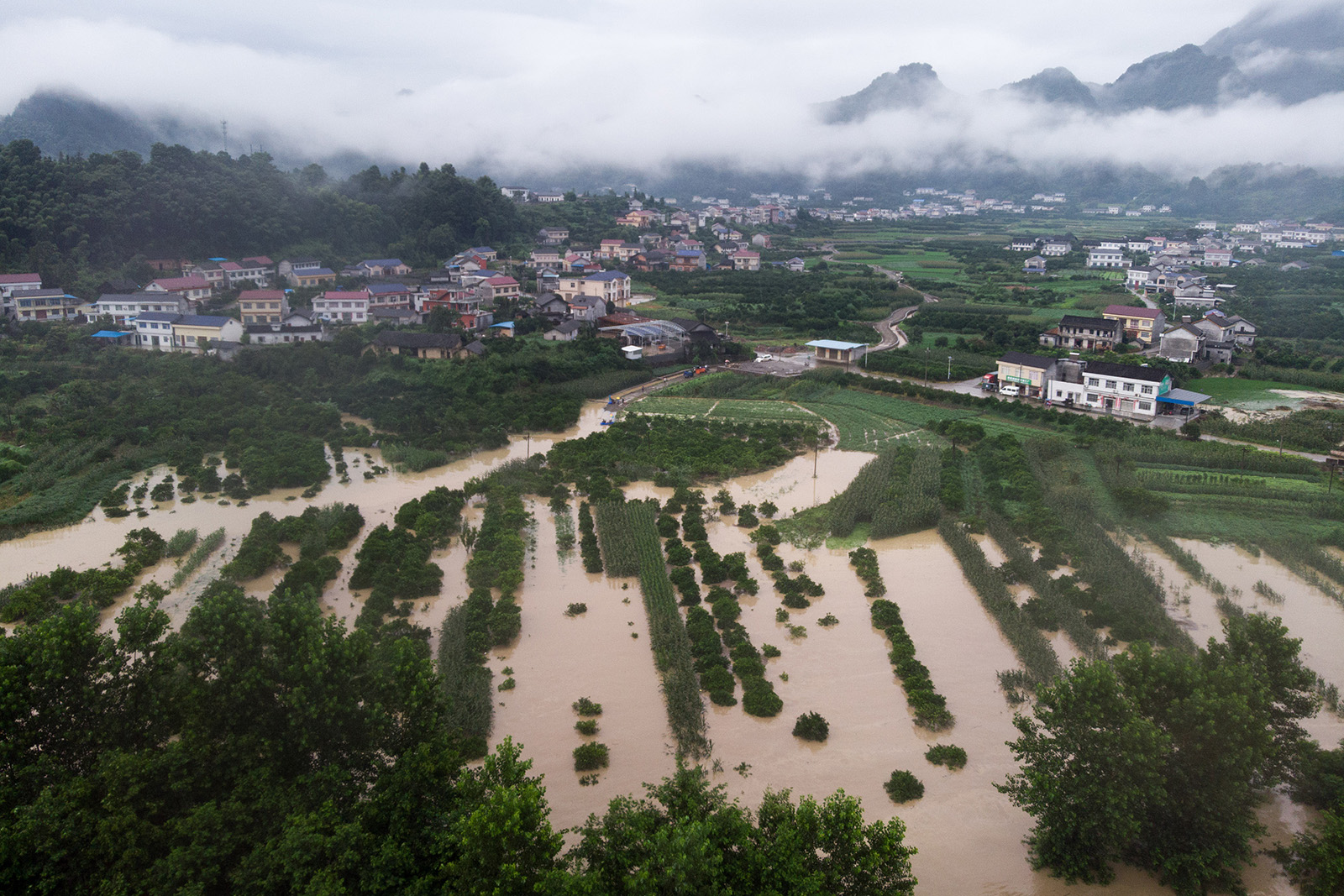 'Everything is gone.' Flooding in China ruins farmers and risks rising food prices