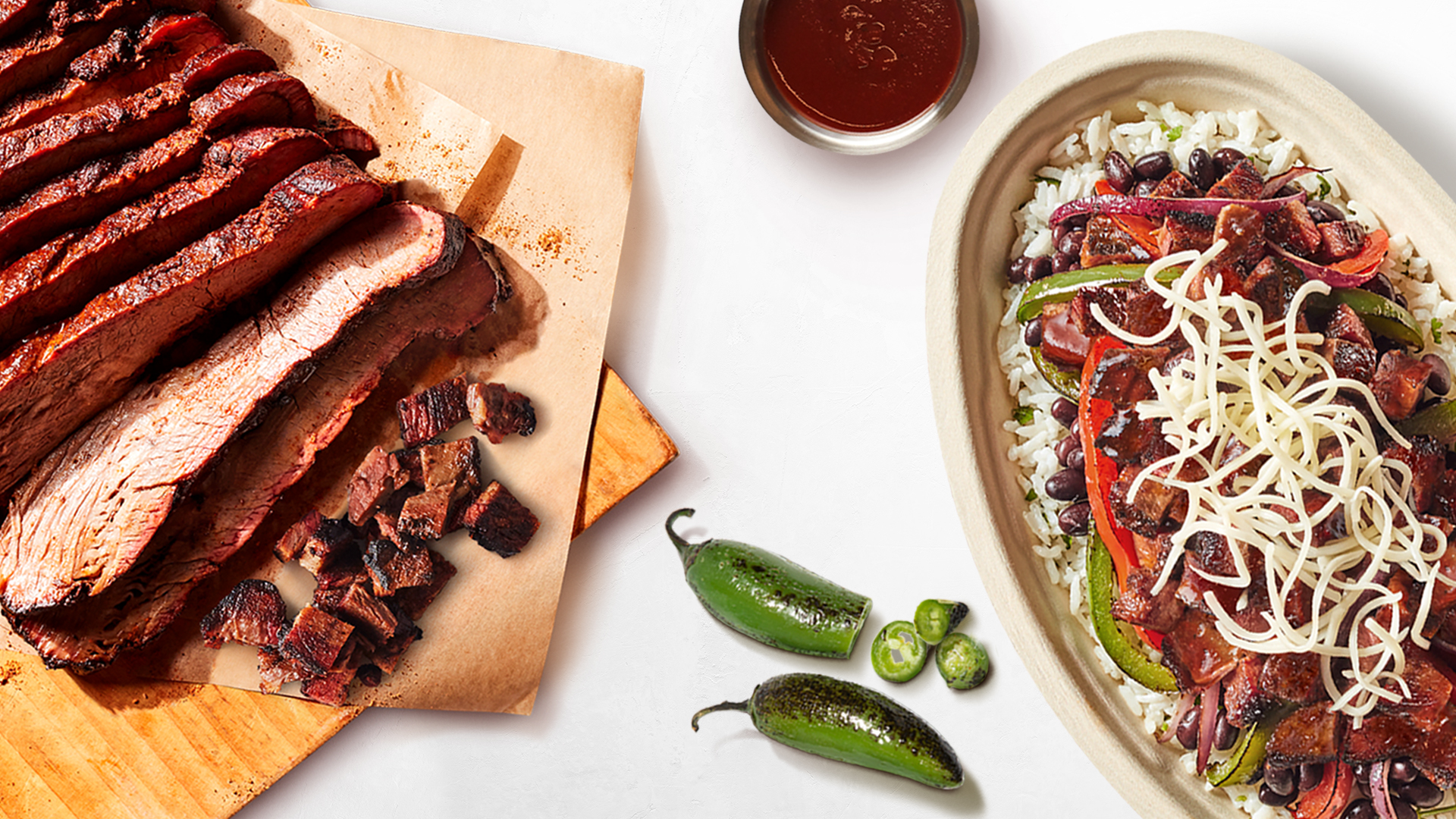 Chipotle adds smoked brisket to its menu for a limited time