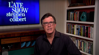 TV changed last night: Stephen Colbert got somber and ViacomCBS stations went dark