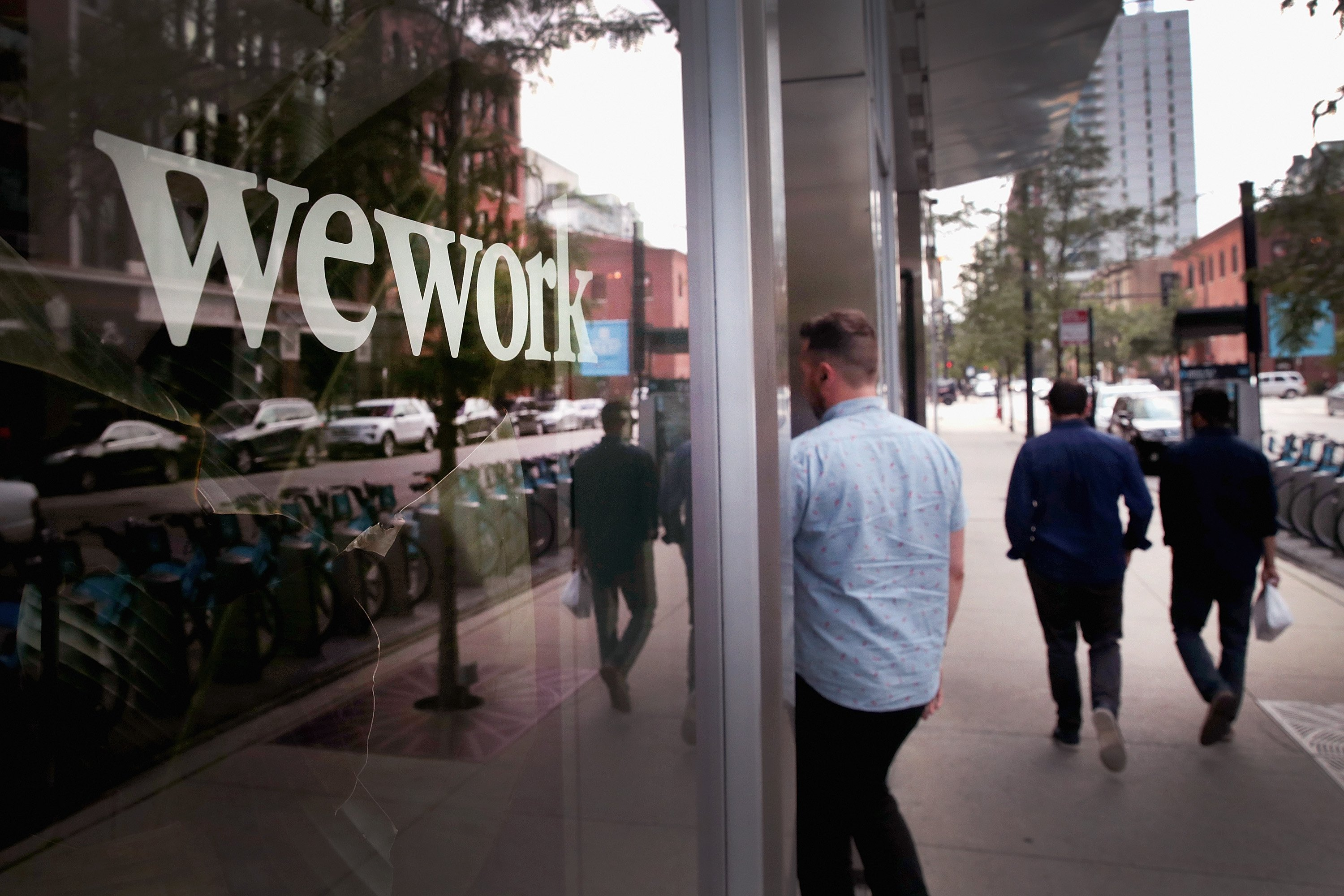 Boston Fed president warns co-working spaces like WeWork could pose a risk to the US economy