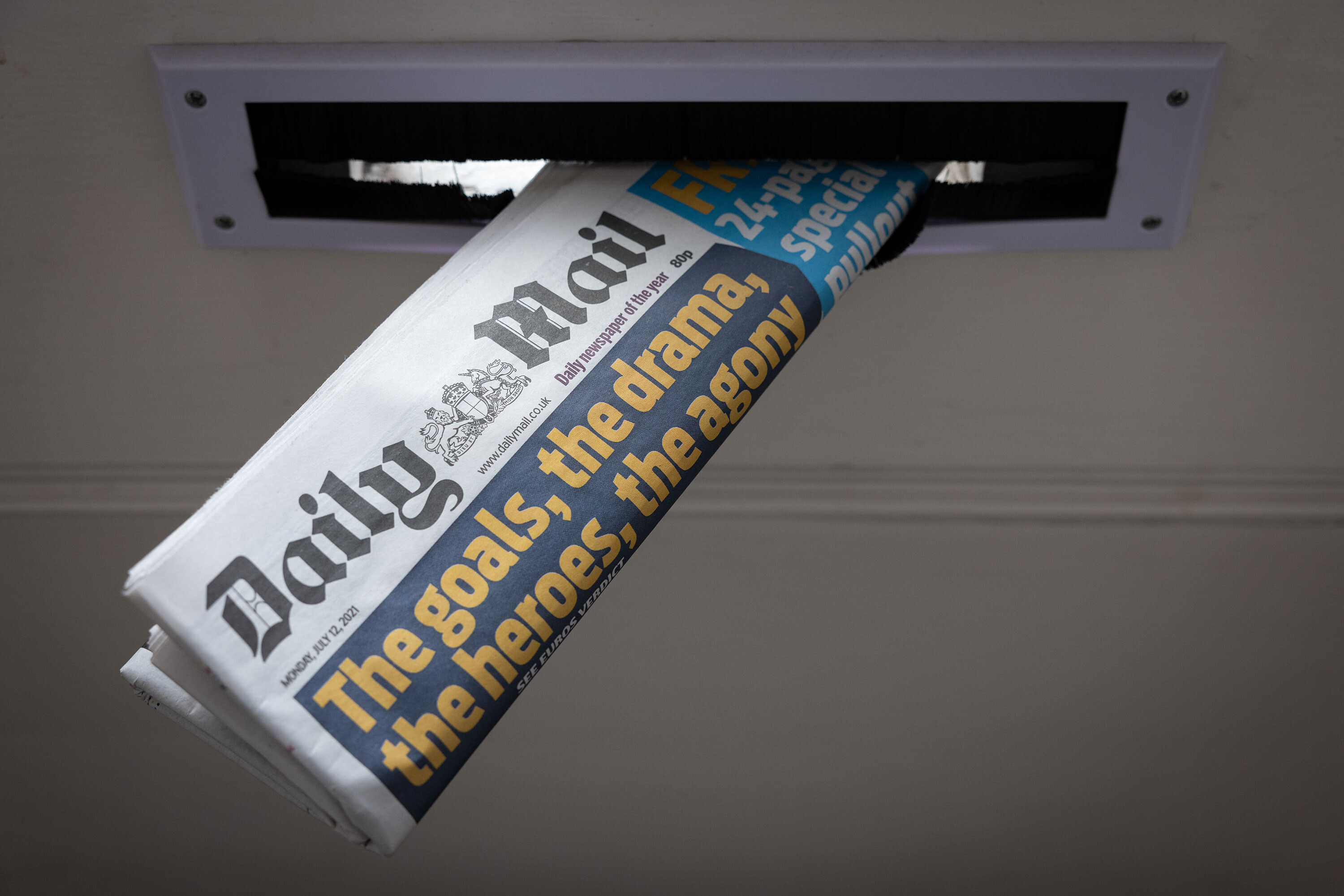 British media baron could take the Daily Mail private