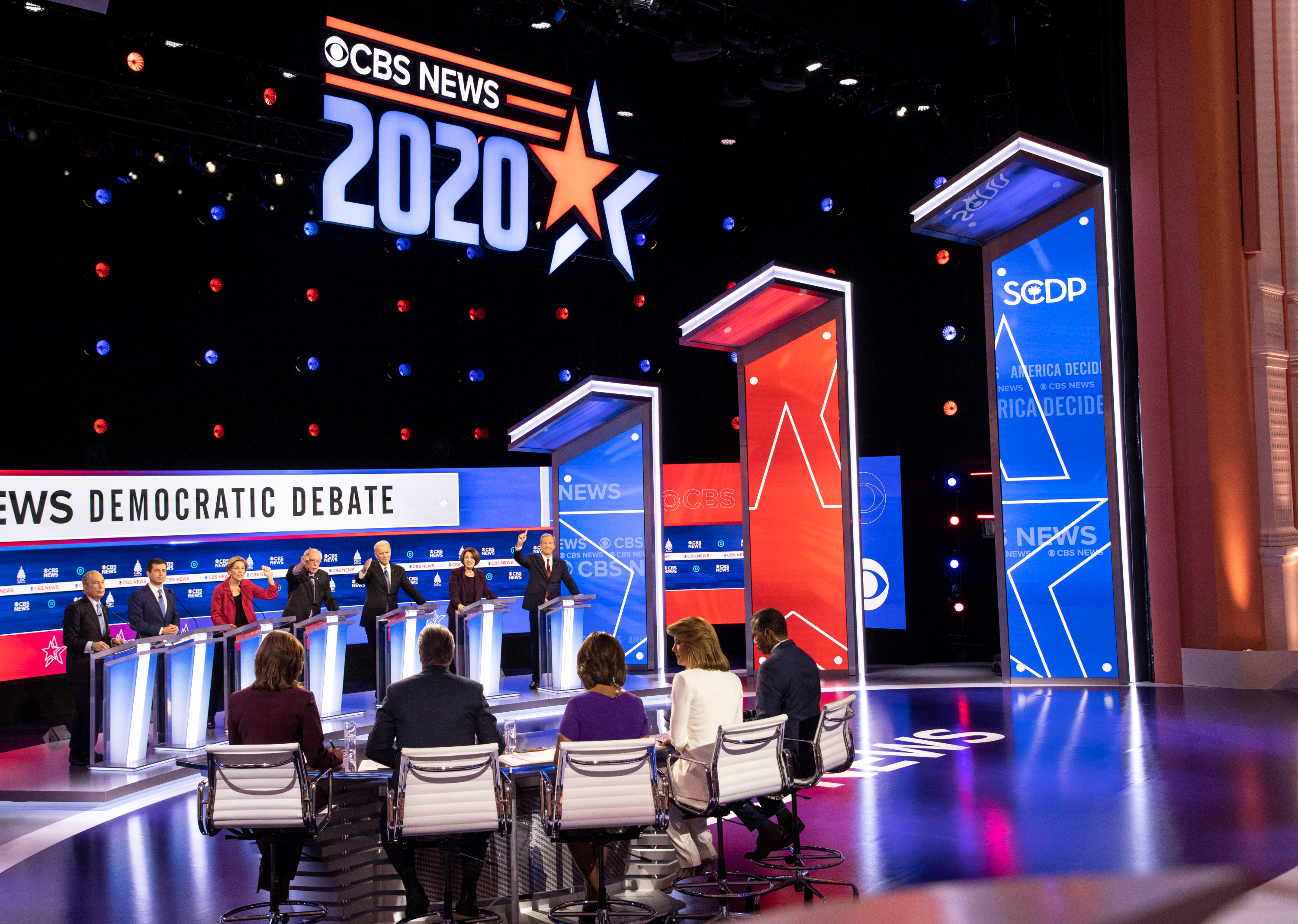 Despite criticism, more than 15.8 million people tuned into chaotic Democratic debate on CBS