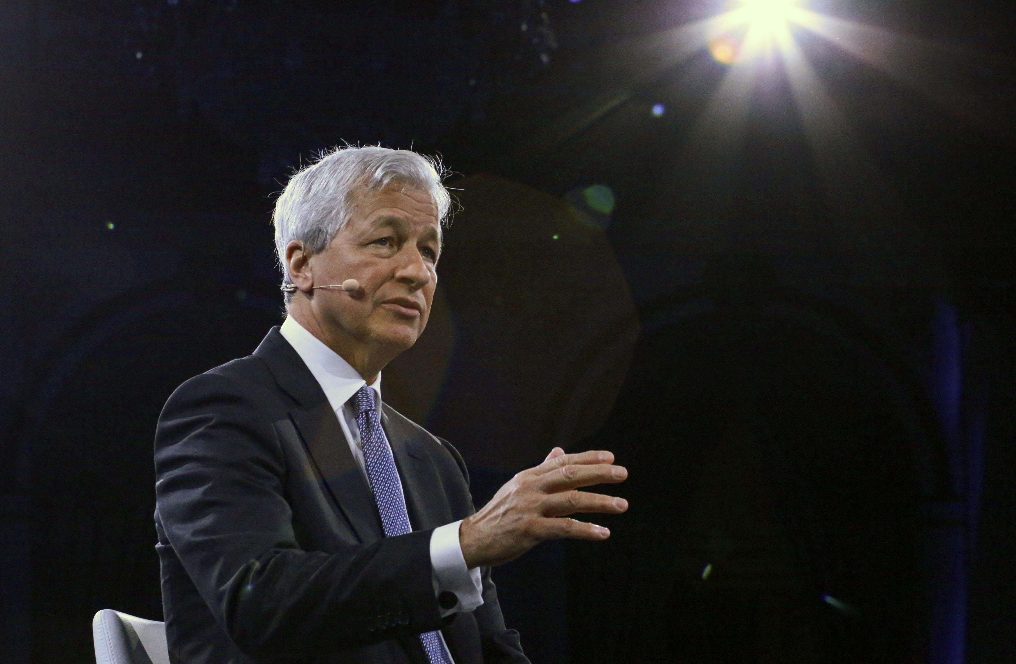 Jamie Dimon had a dream that coronavirus killed Davos attendees