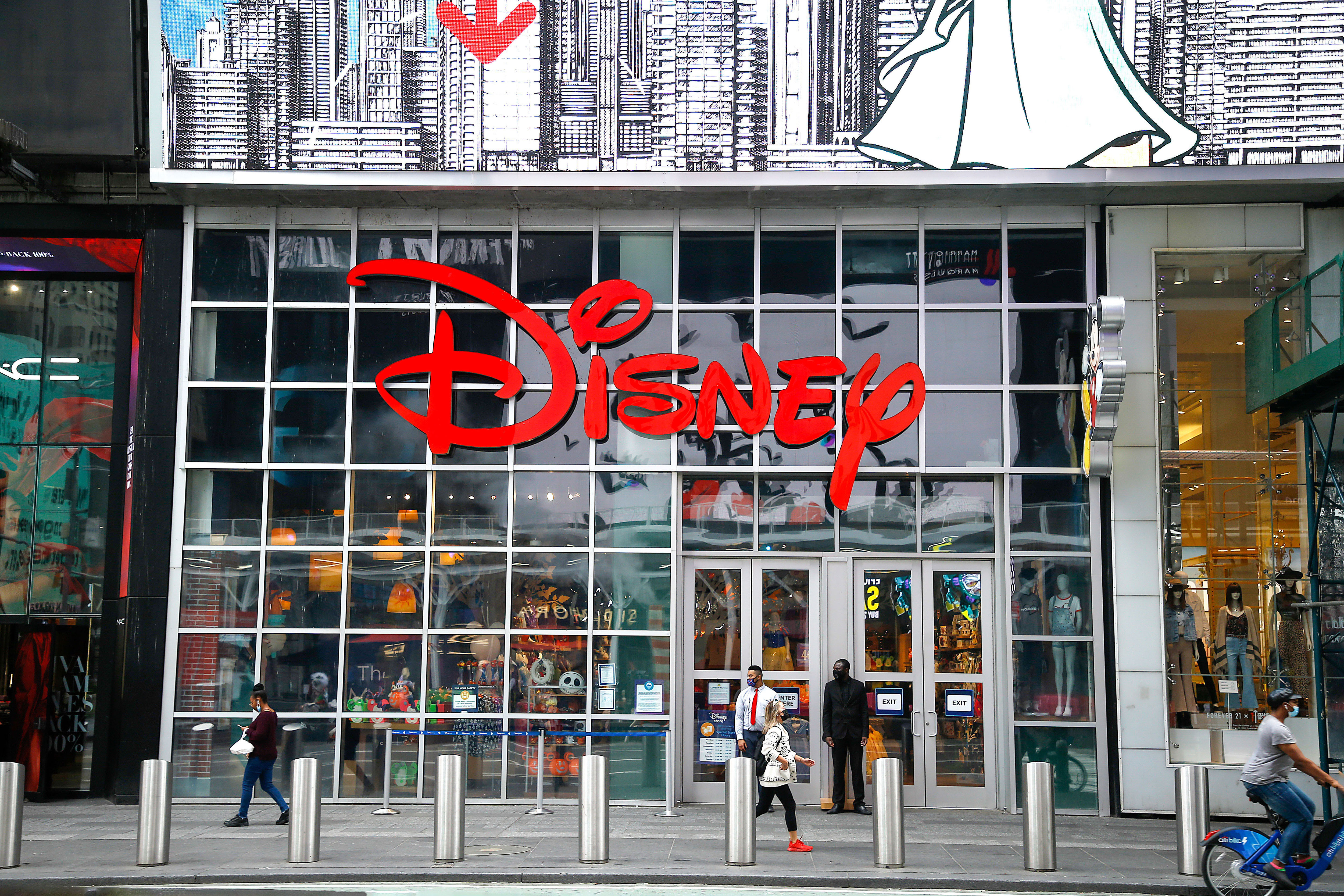 Disney is closing 60 stores in the US and Canada