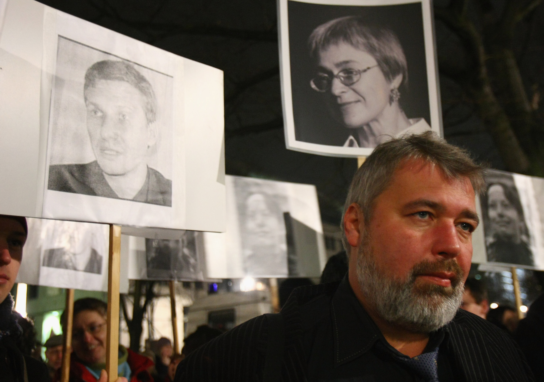 Nobel winner Dmitry Muratov's newspaper has long been a thorn in Putin's side