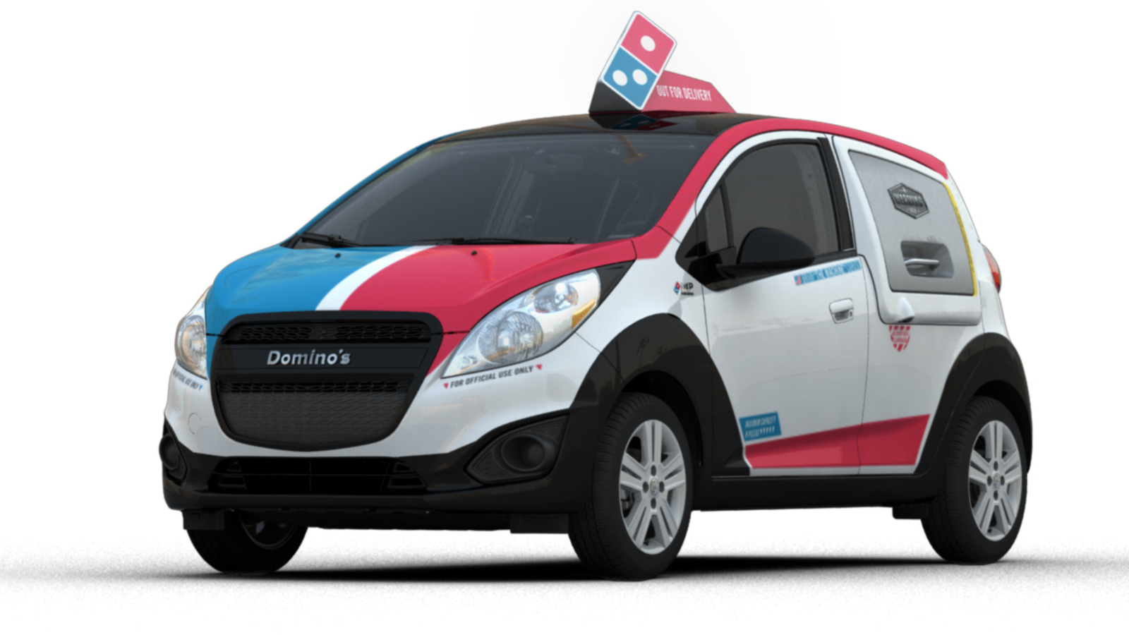 'Soda bombs' and 'pizza security': The lessons of making a car for Domino's