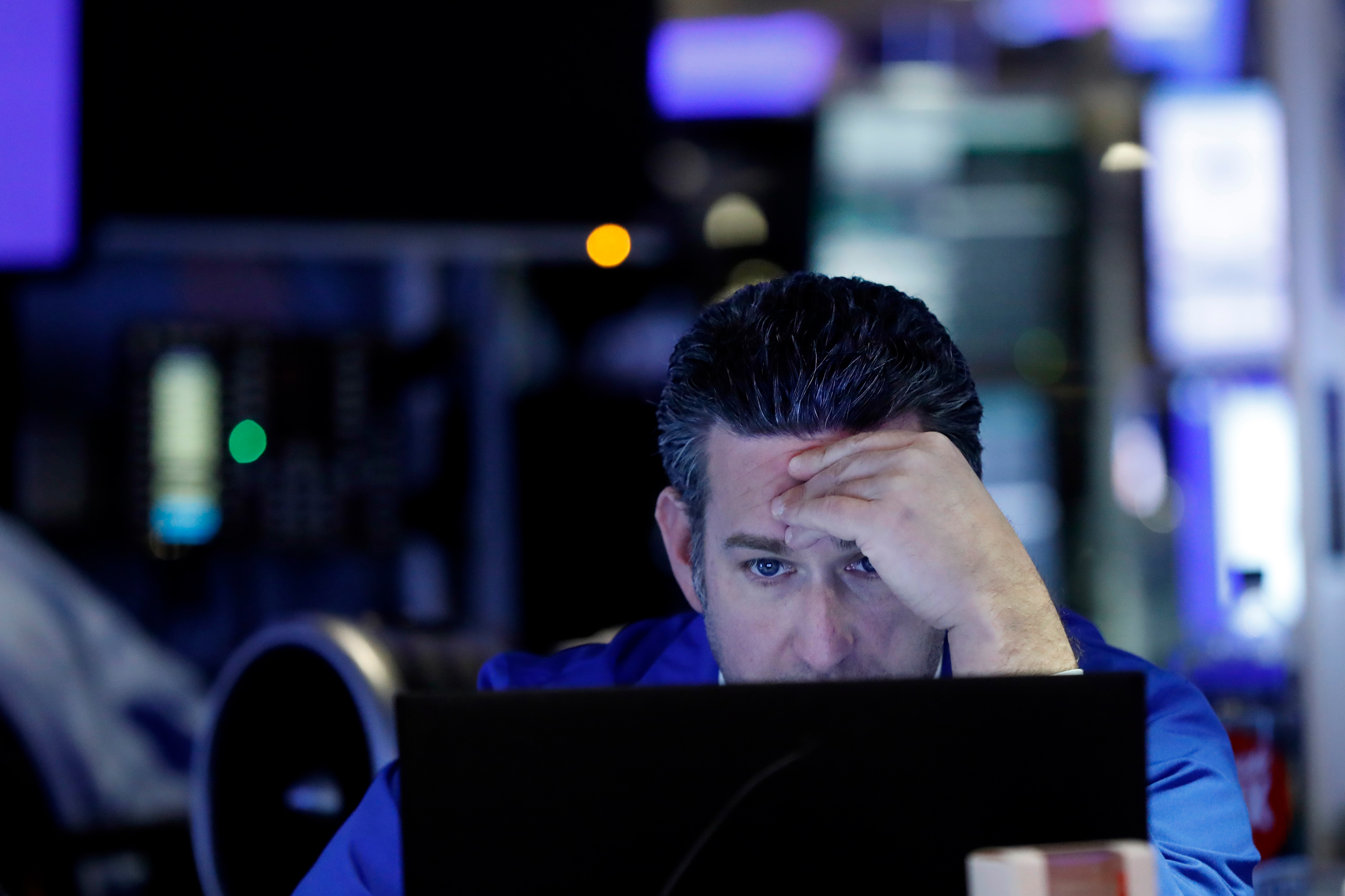 Markets were totally calm. Then stocks fell off a cliff