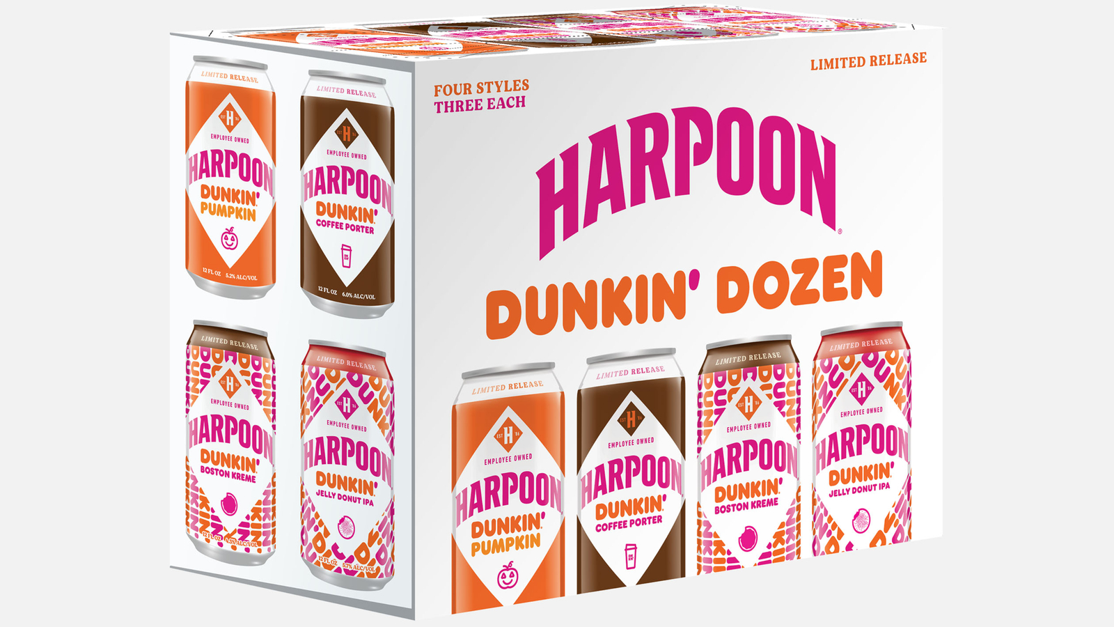 In the most Boston thing ever, Dunkin and Harpoon are making doughnut-infused beer