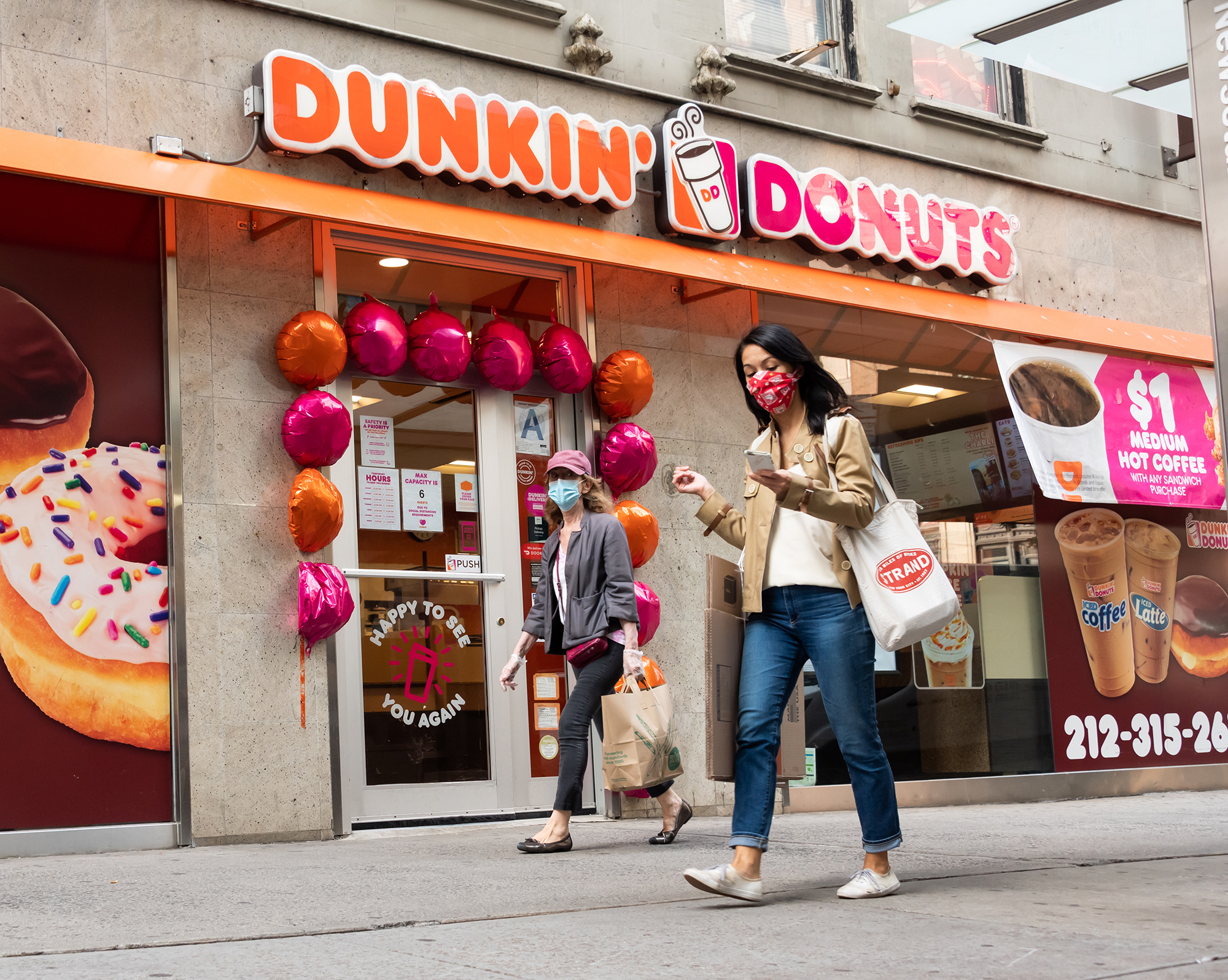 Dunkin' is going private in $11.3 billion deal