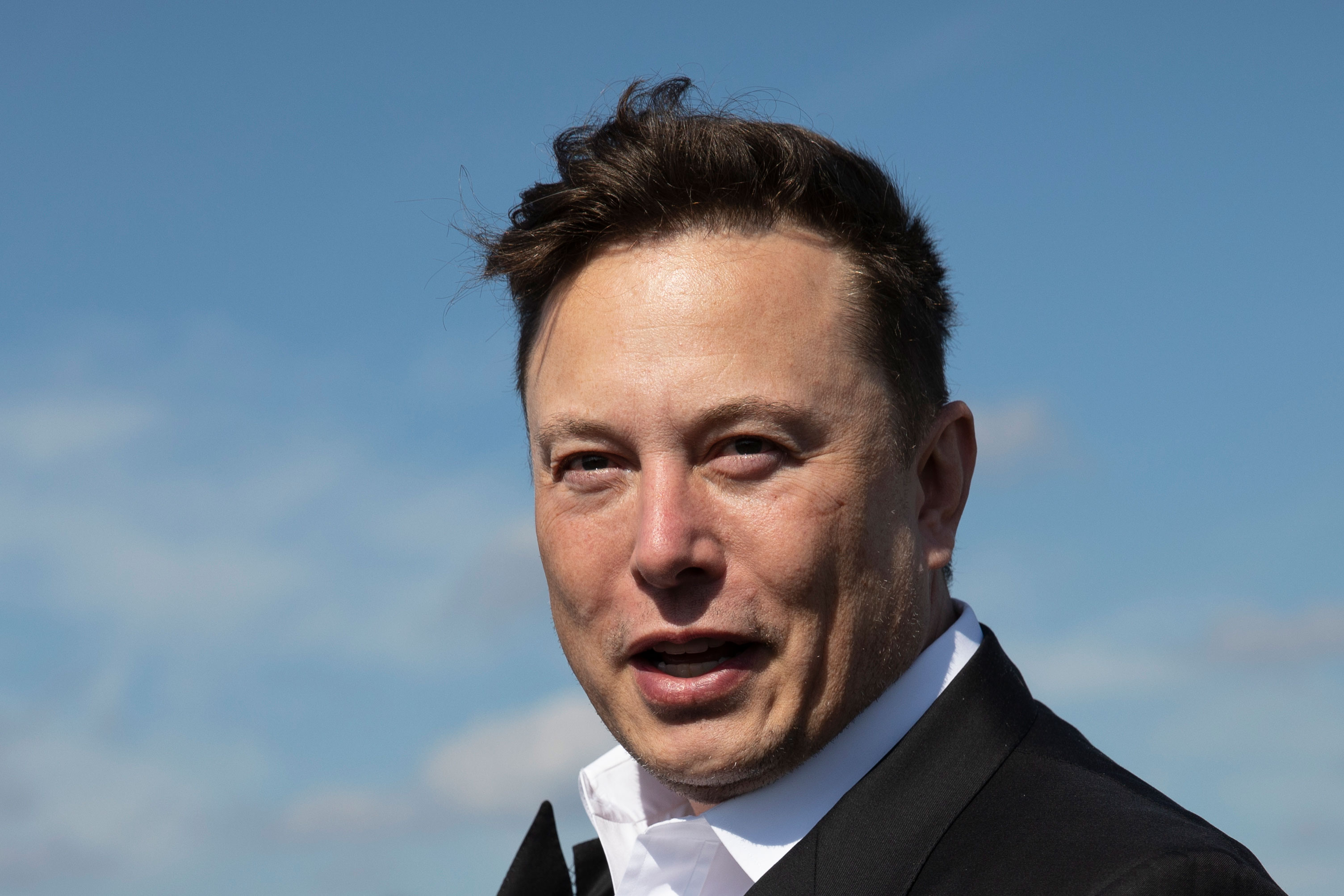 Elon Musk warns employees Tesla's stock could 'get crushed like a soufflé under a sledgehammer'