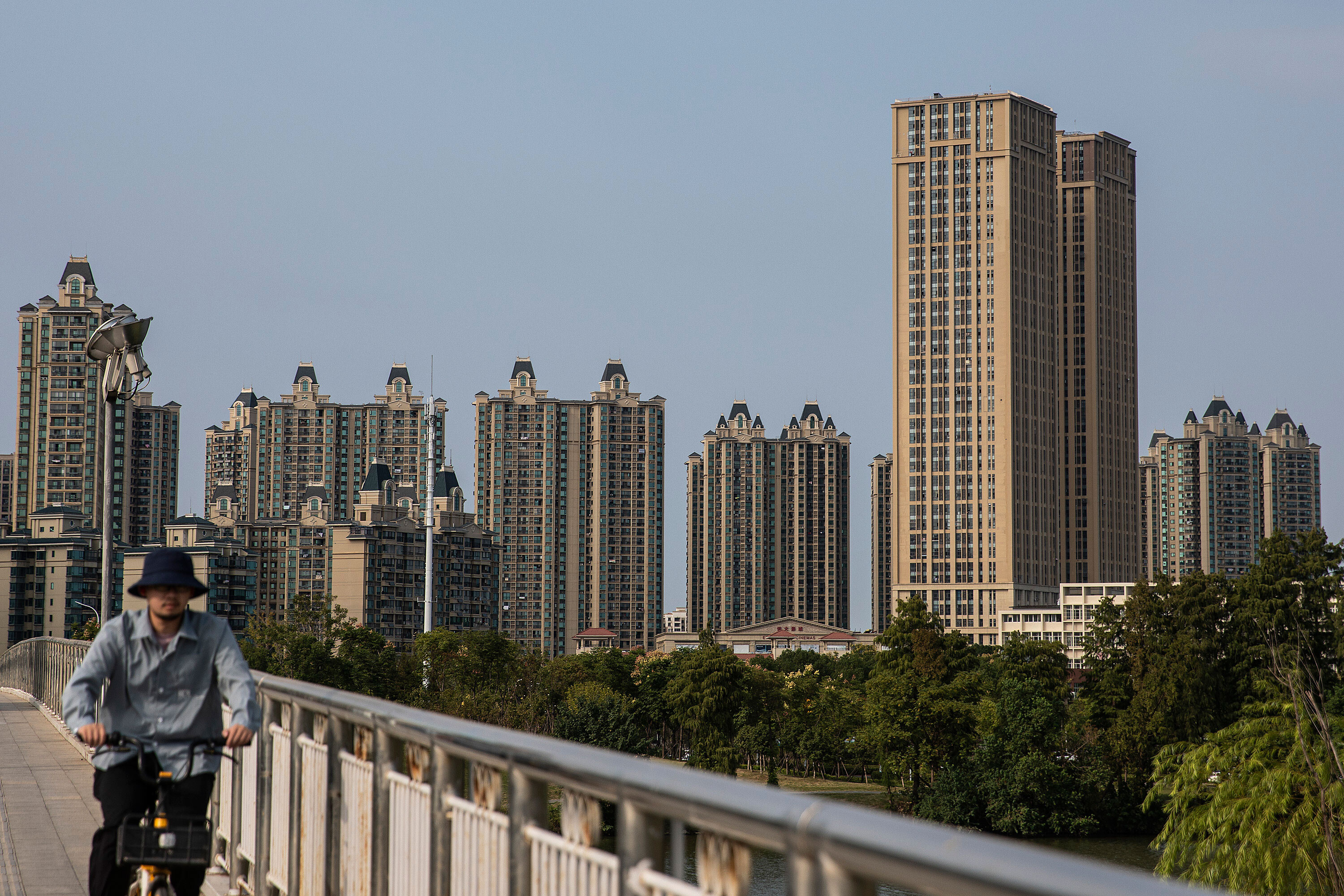 Evergrande default looms as another developer warns of trouble