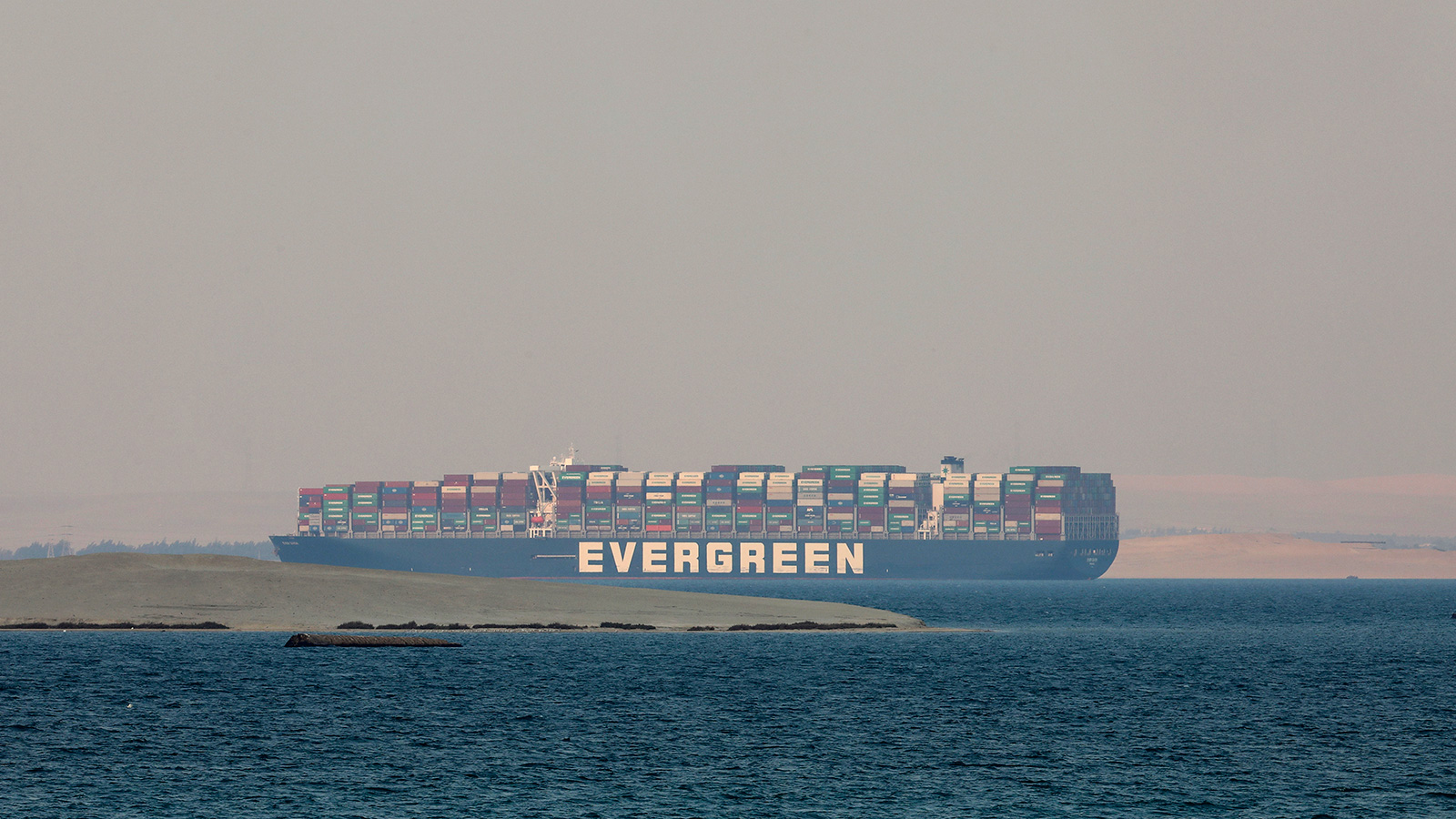 The Ever Given could soon be released by the Suez Canal