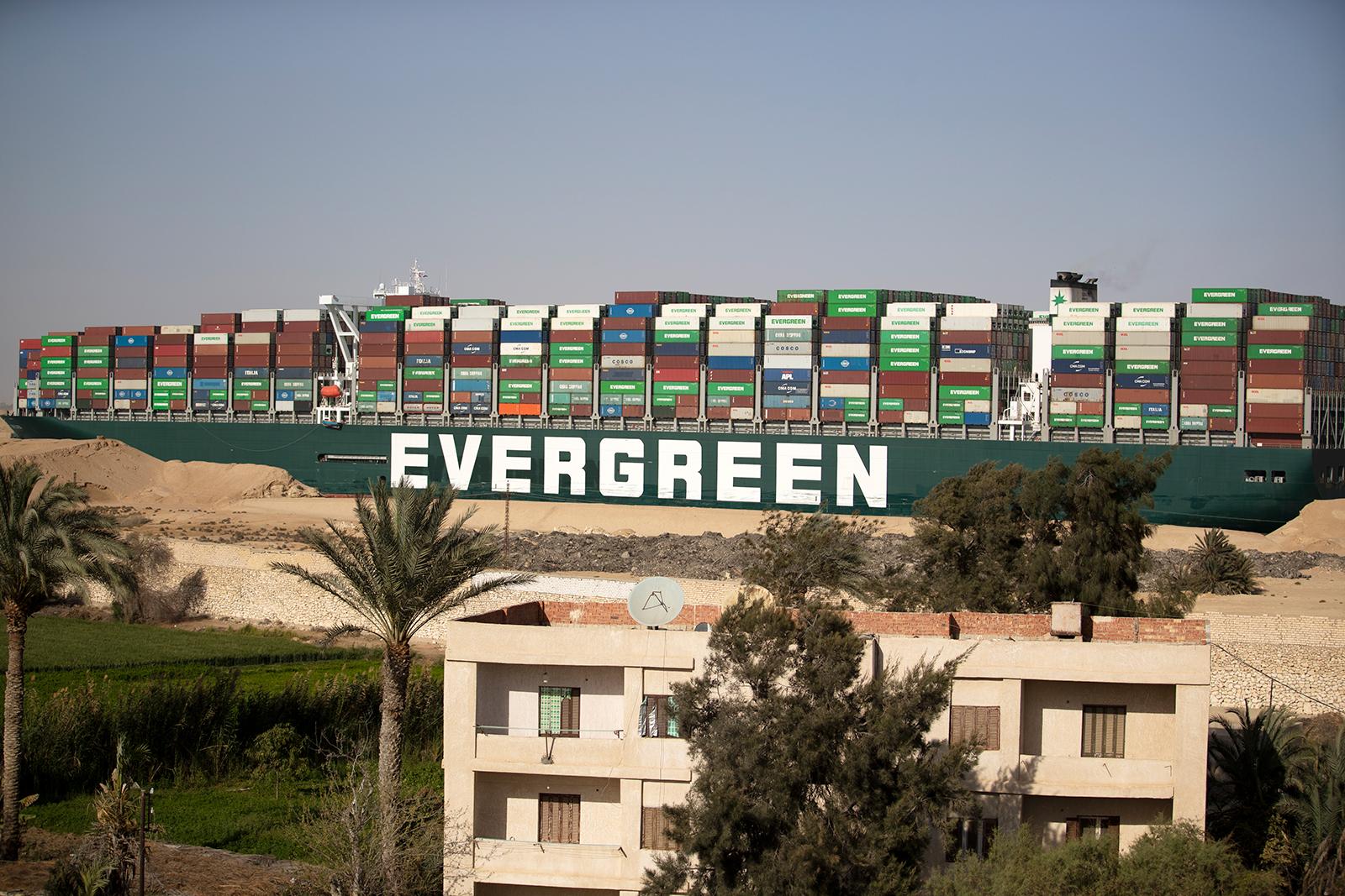 Egypt impounds Ever Given ship over $900 million Suez Canal compensation bill