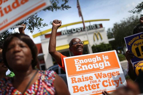 Image for The minimum wage hasn't gone up in nearly 10 years. That's a new record