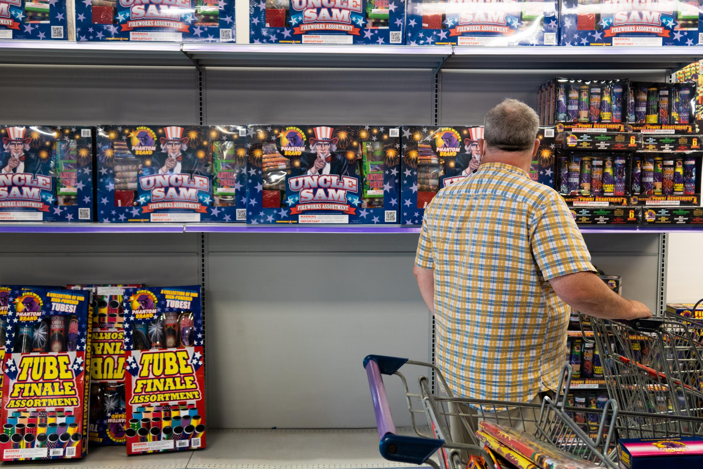 America is running out of fireworks