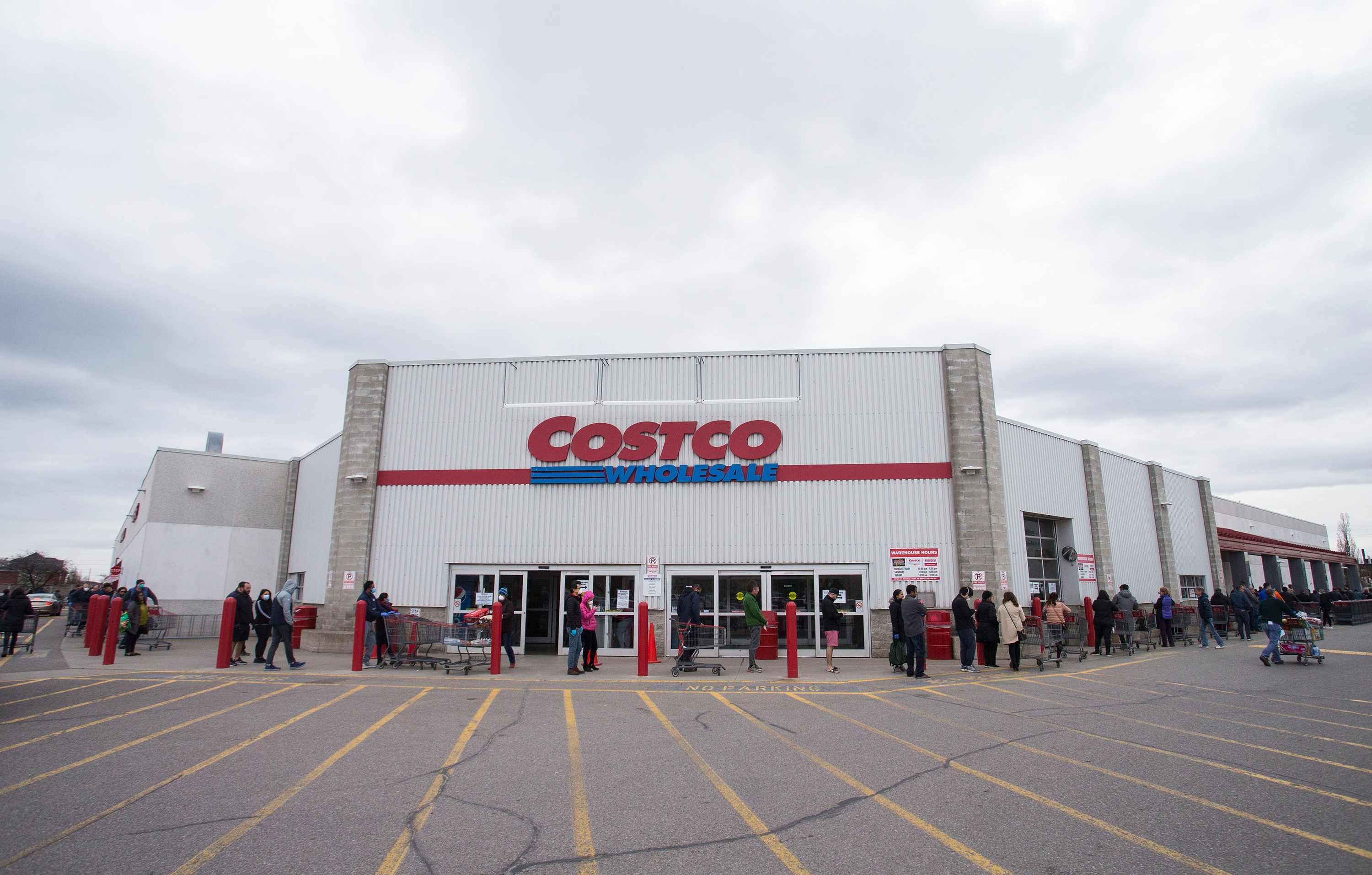 Are you a first responder? You can cut the line at Costco
