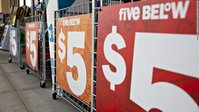 Five Below starts selling products for more than $5