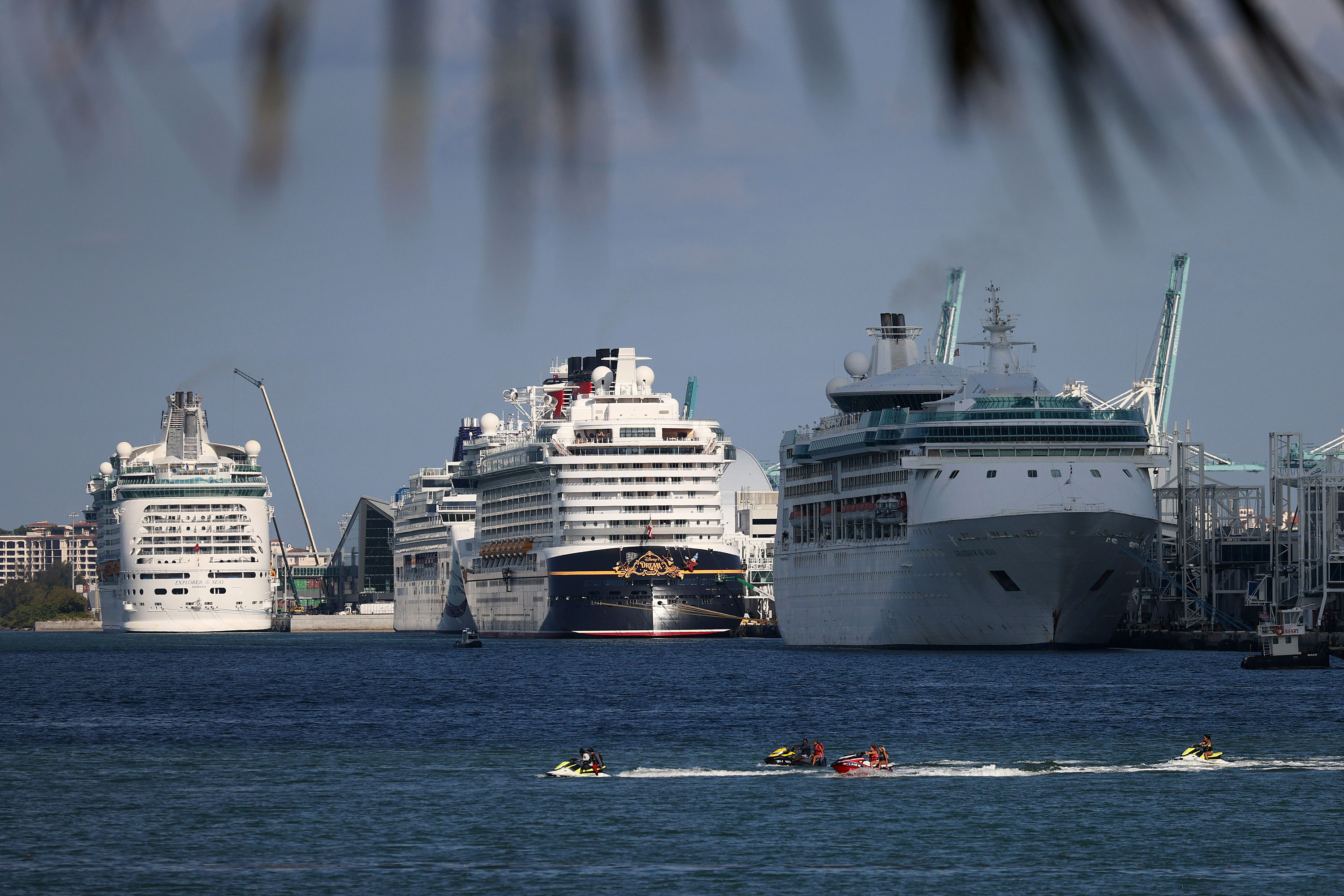 A judge ruled that Florida would be harmed by the CDC stopping most cruise ships from sailing