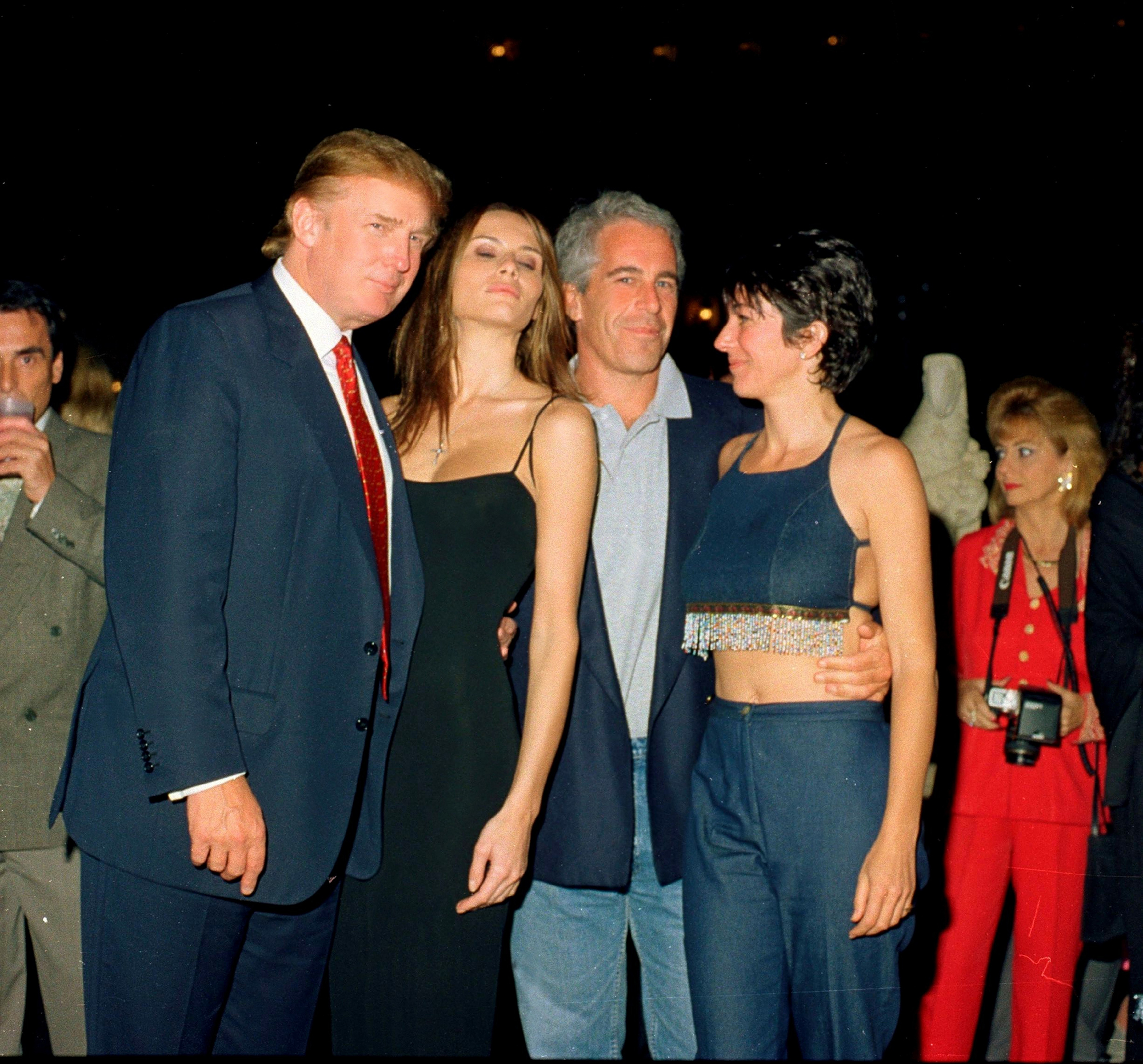 Fox News says it 'mistakenly' cropped Trump out of photo featuring Jeffrey Epstein and Ghislaine Maxwell
