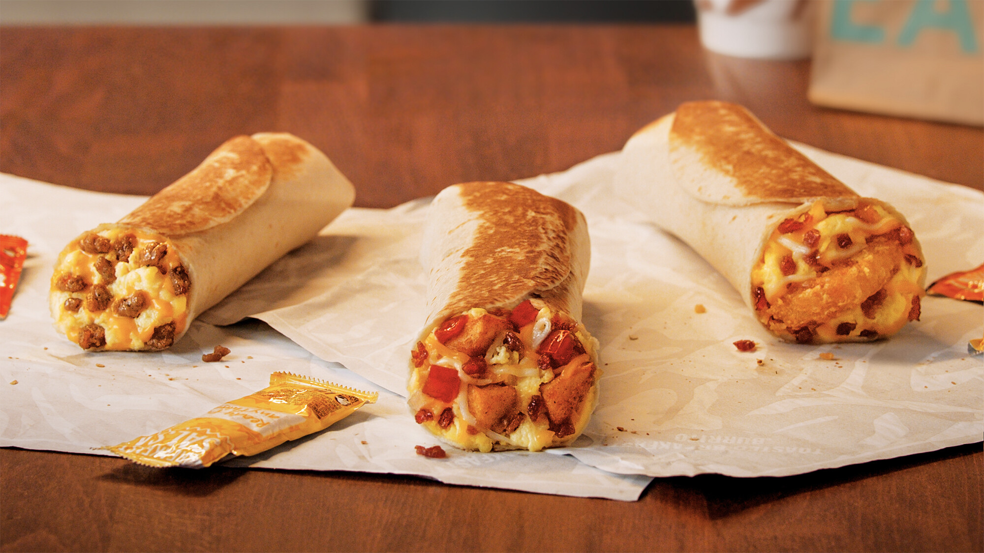 Taco Bell is giving away free breakfast burritos