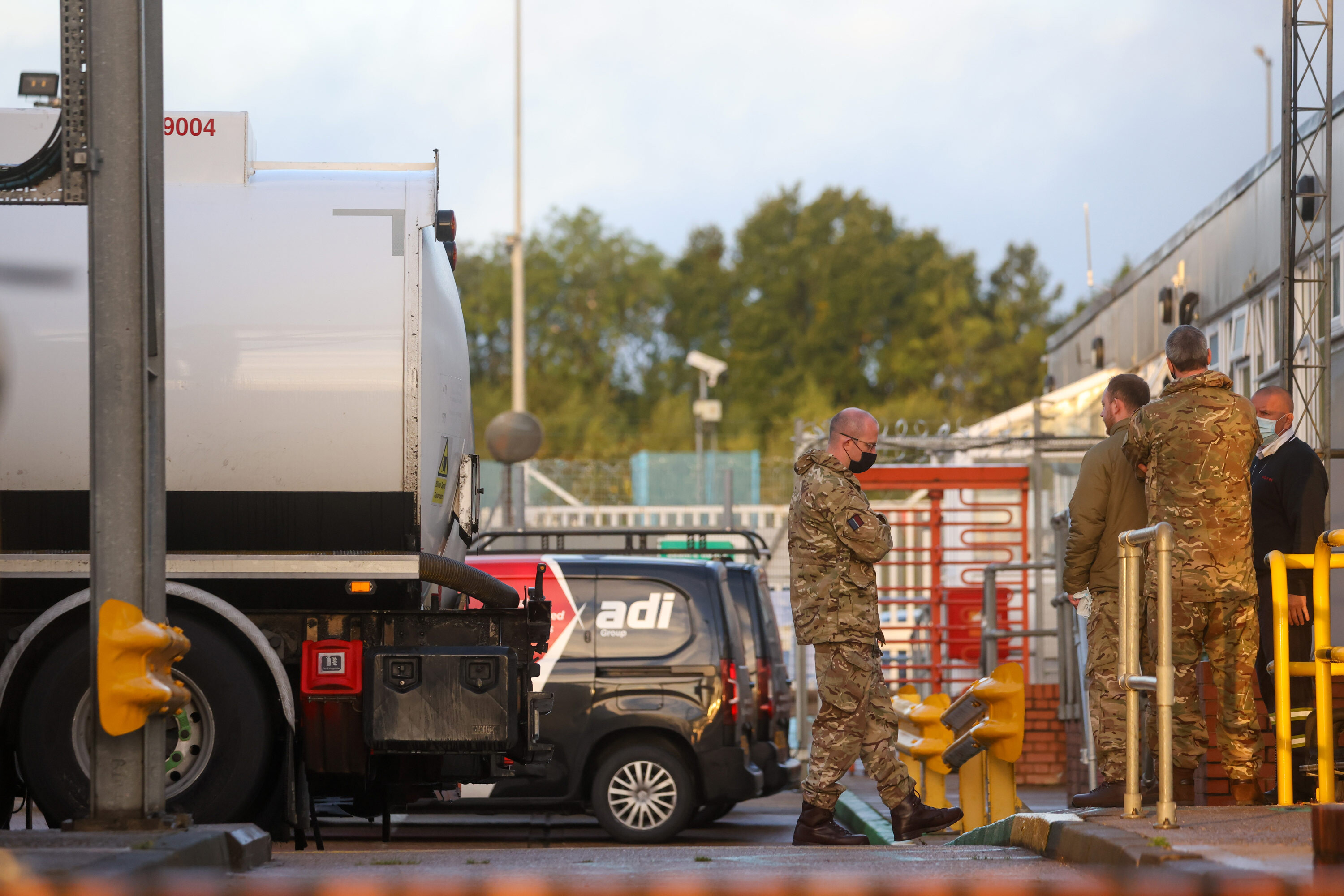 Soldiers are delivering fuel in Britain as 'challenging' shortages persist