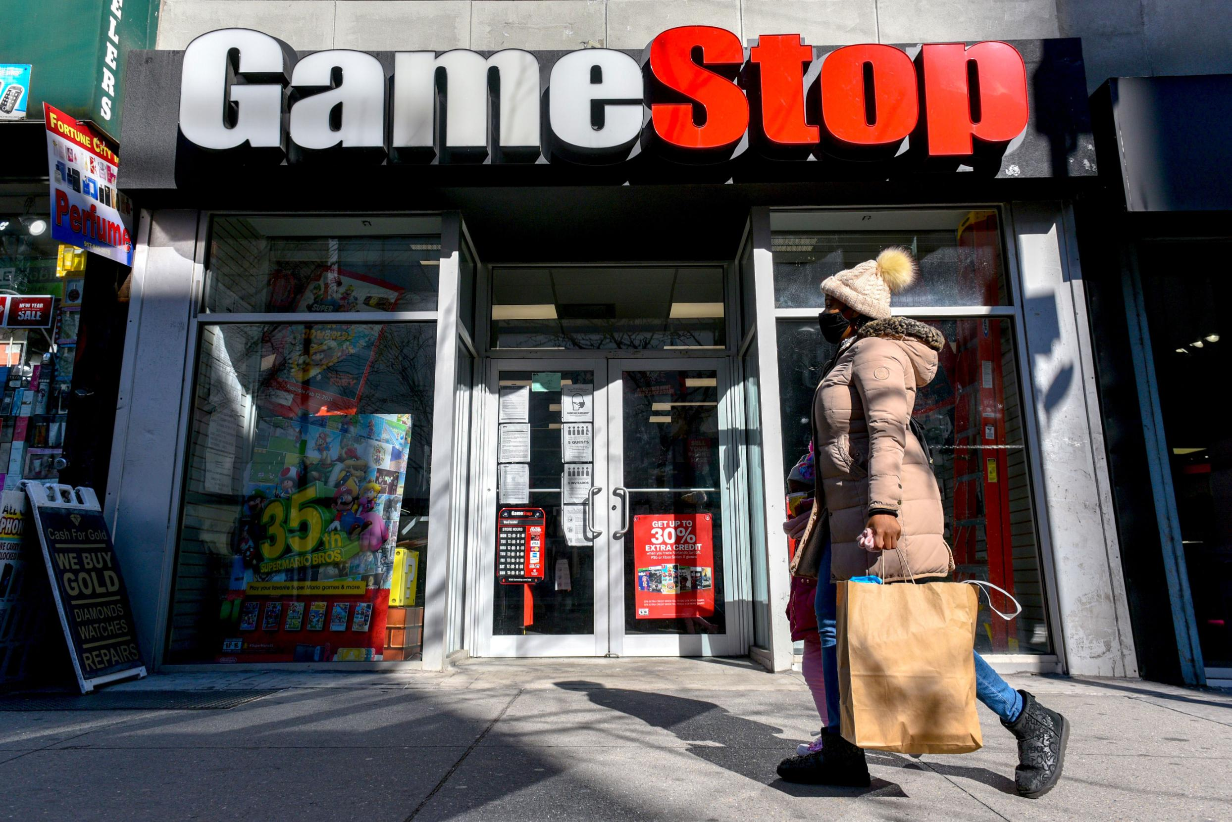 GameStop soars 85% after doubling yesterday