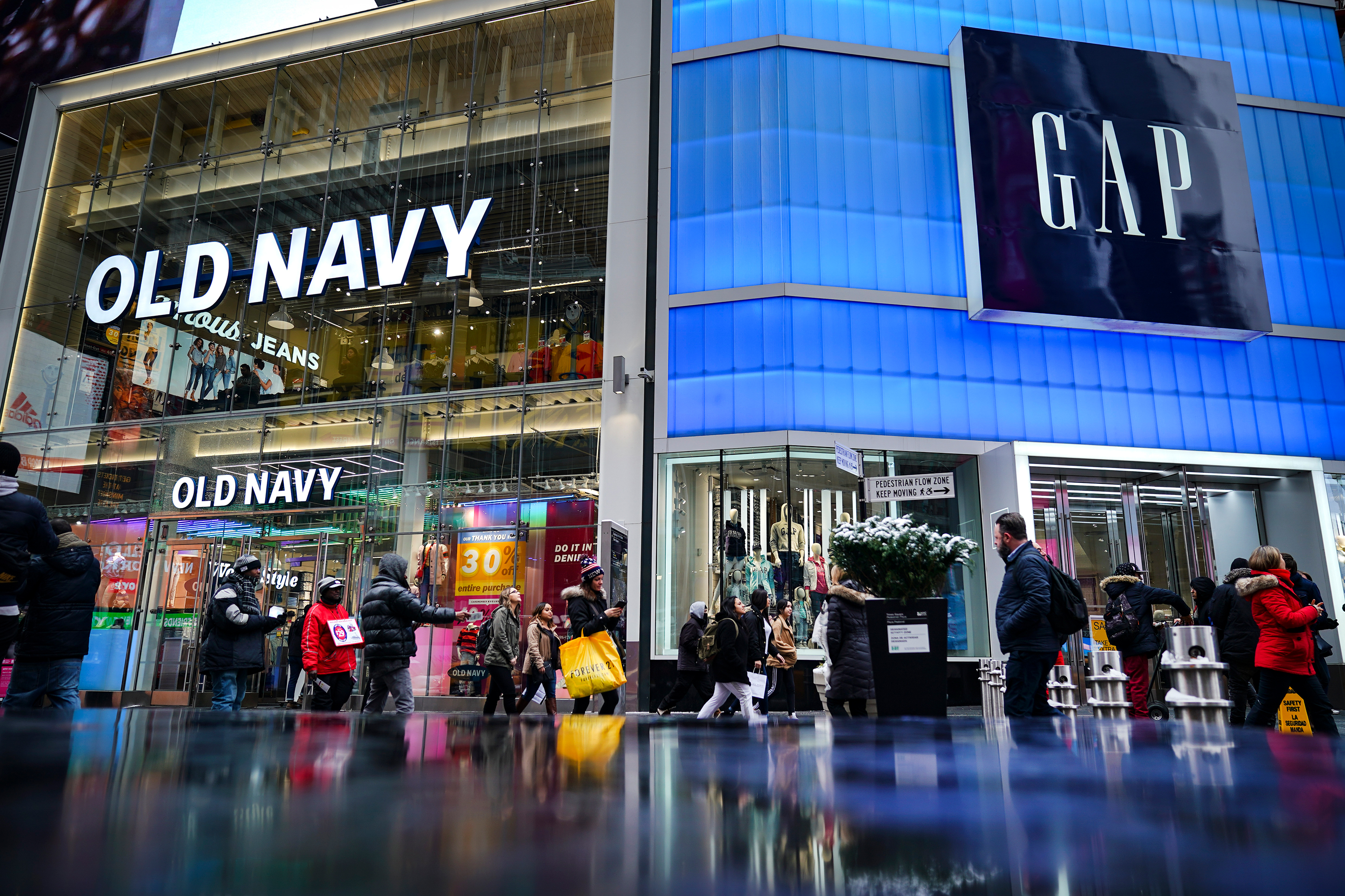 Gap won't spin off its Old Navy brand