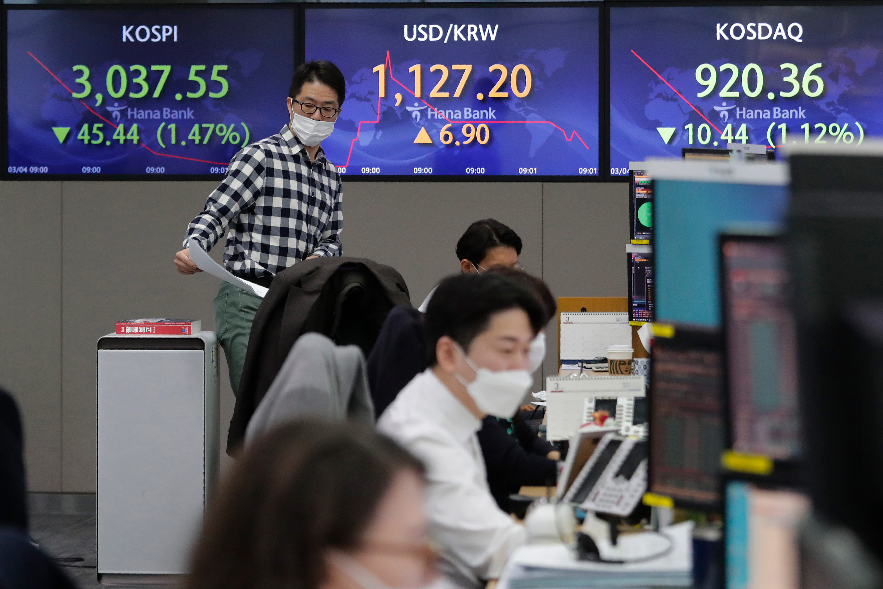 Inflation fears continue to rattle global stocks