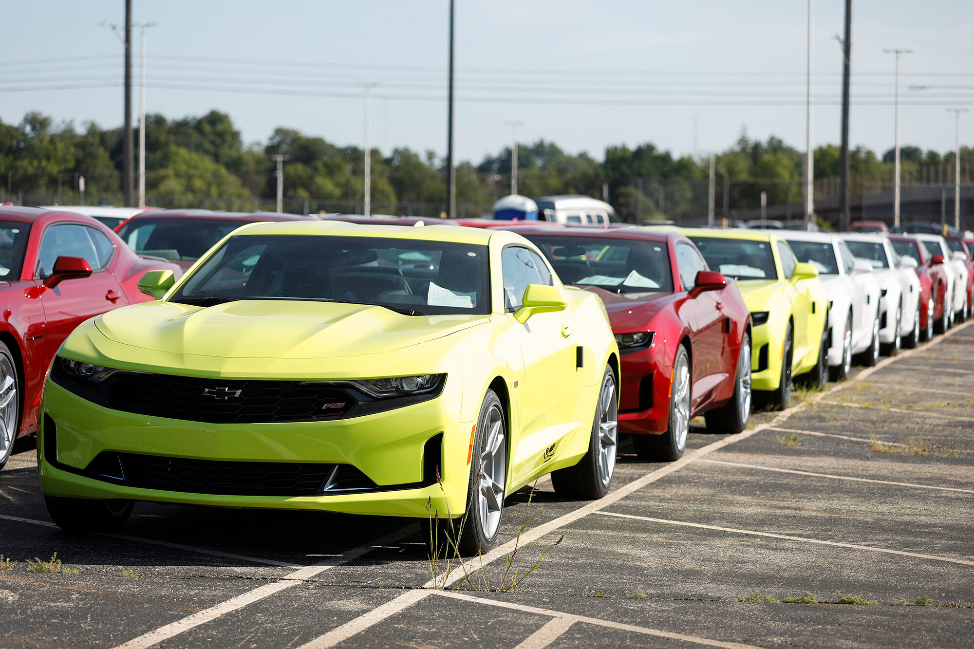 GM earnings and sales fall as the chip shortage continues to plague automakers