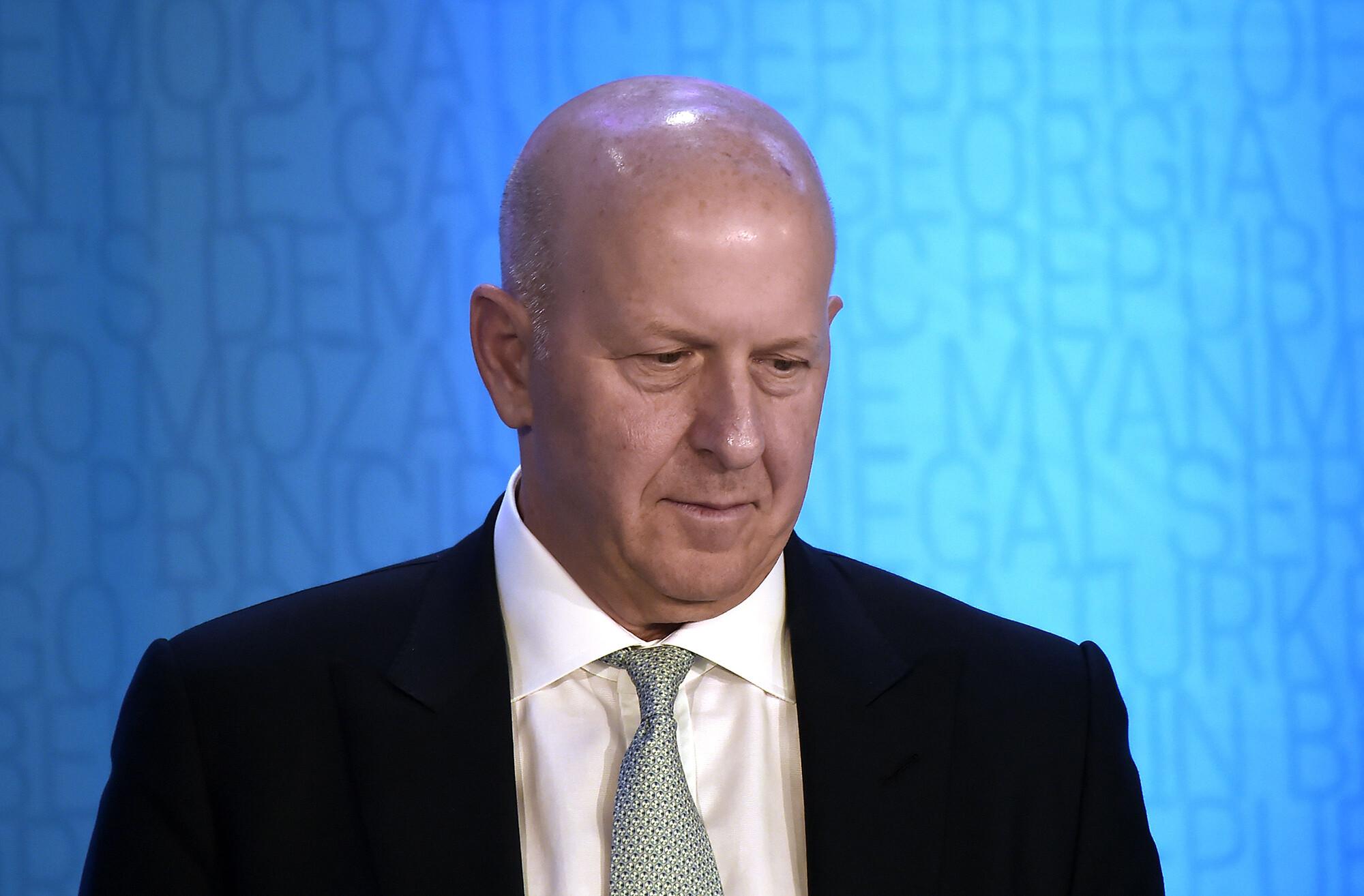 Goldman Sachs posts $5.5 billion profit as the stock market booms