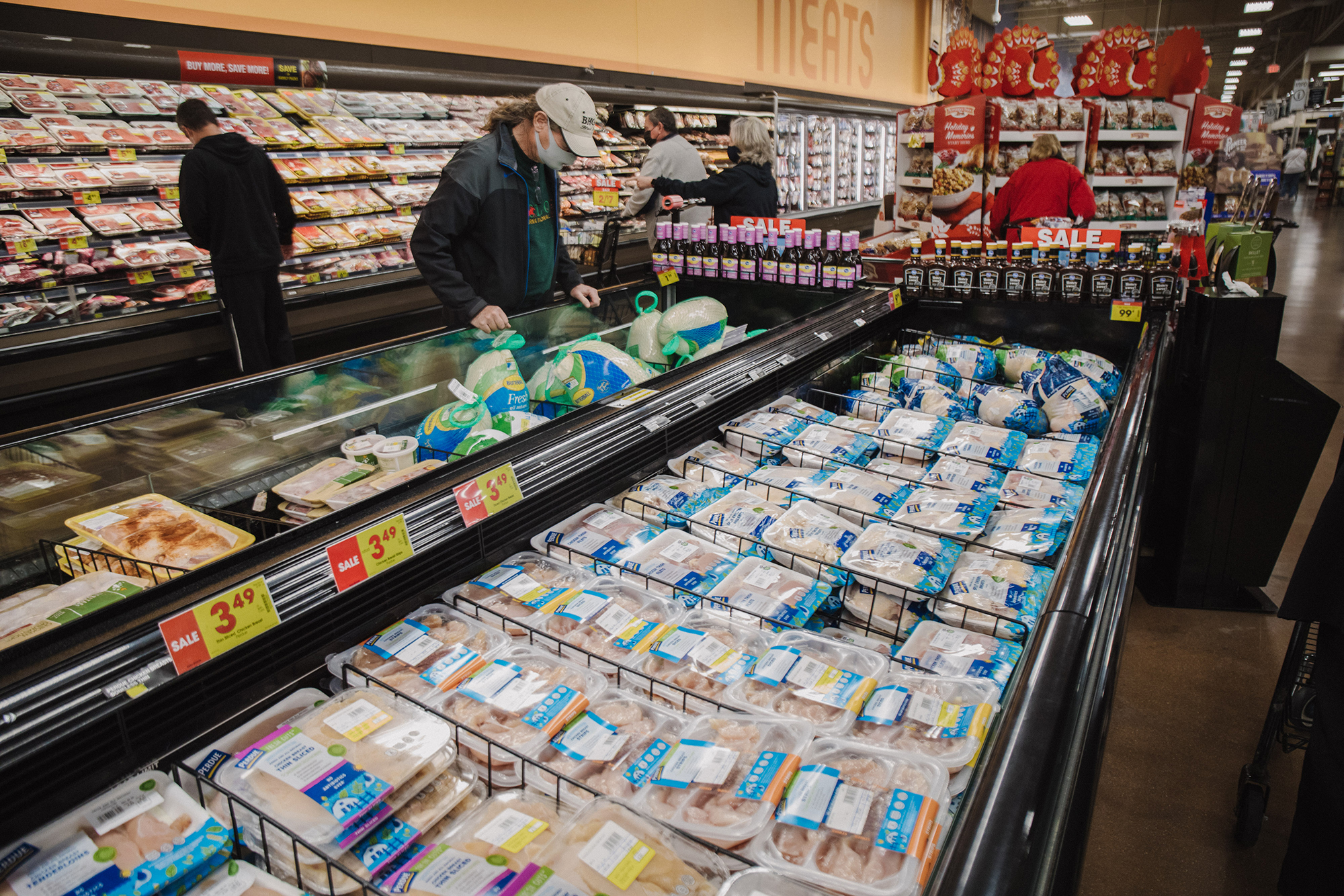 One group that won't entirely benefit from going 'back to normal': Grocery stores