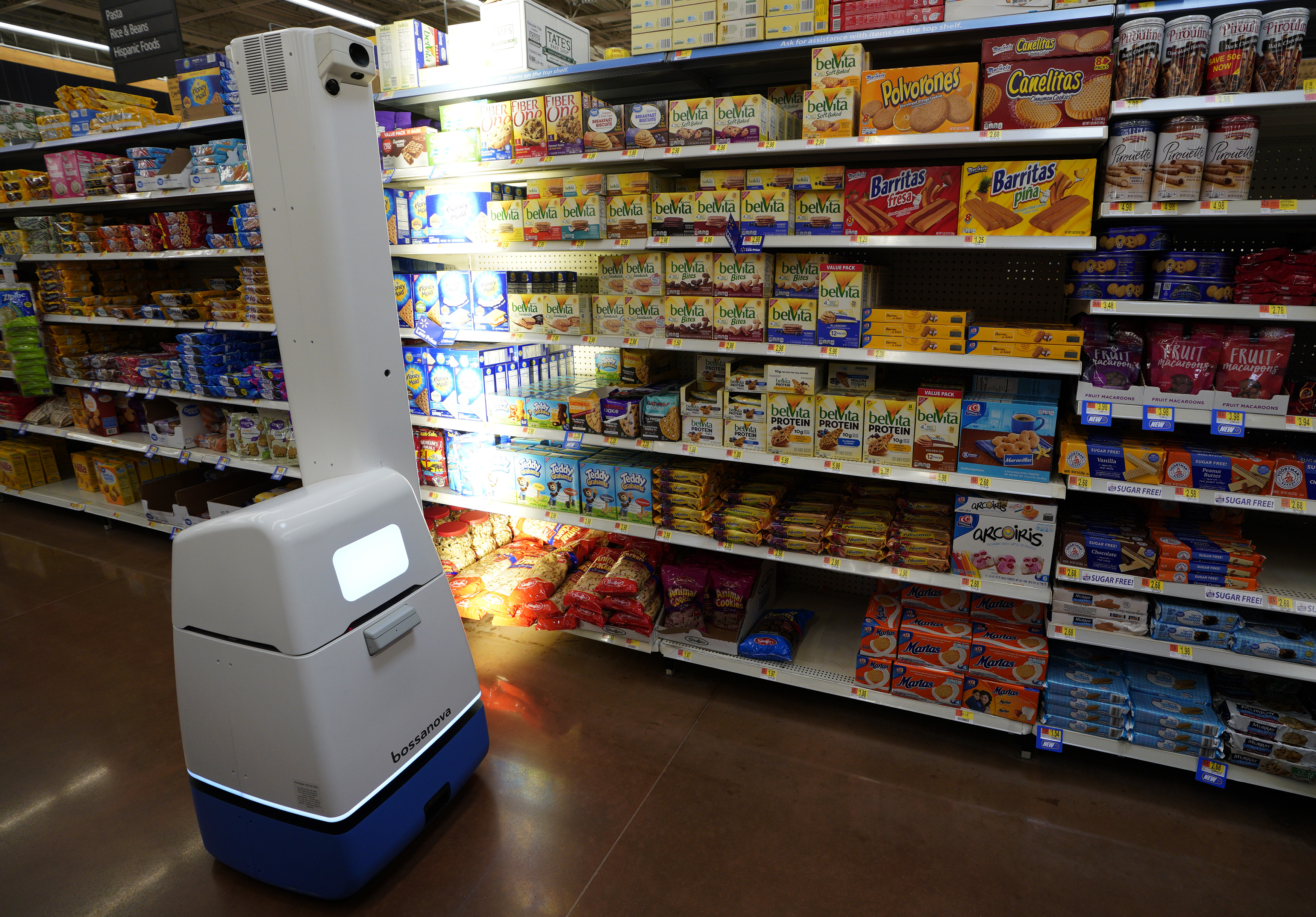 Grocery stores turn to robots during the coronavirus