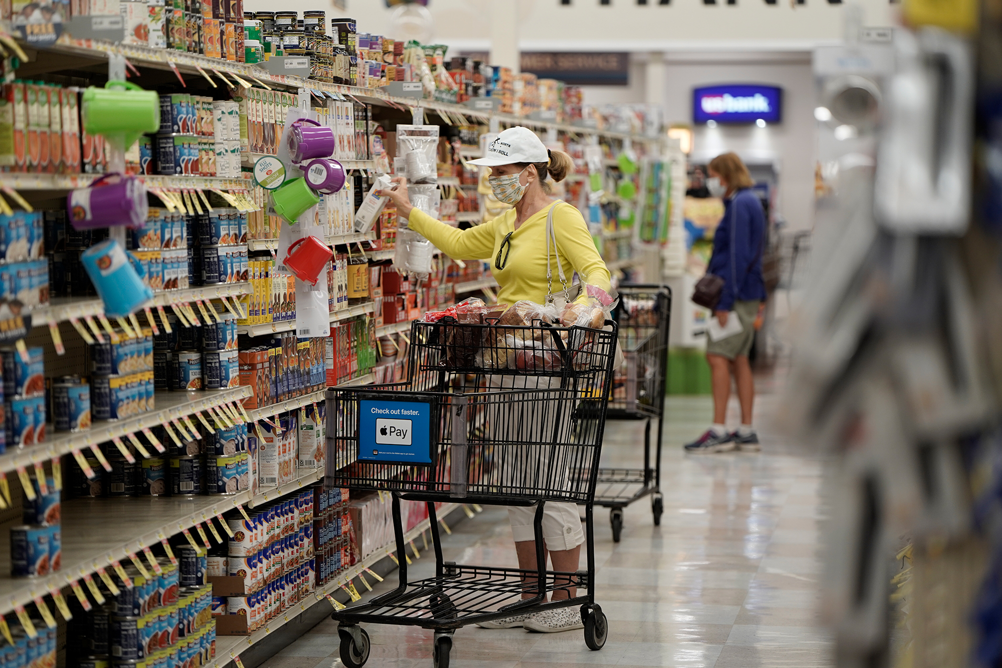 It's harder to find sale items at the grocery store