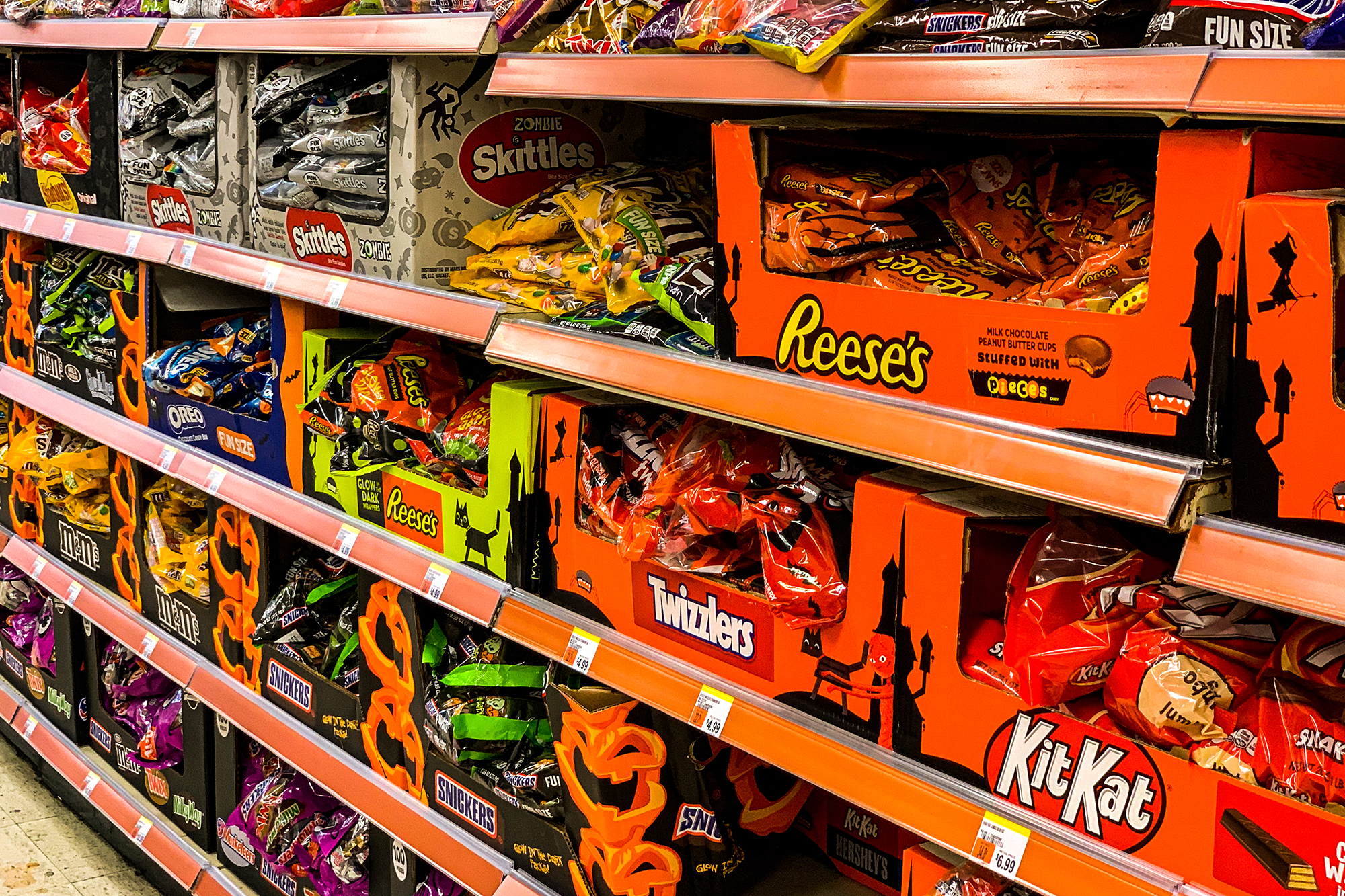 Trick-or-treating is in doubt this year, so Halloween candy is coming early