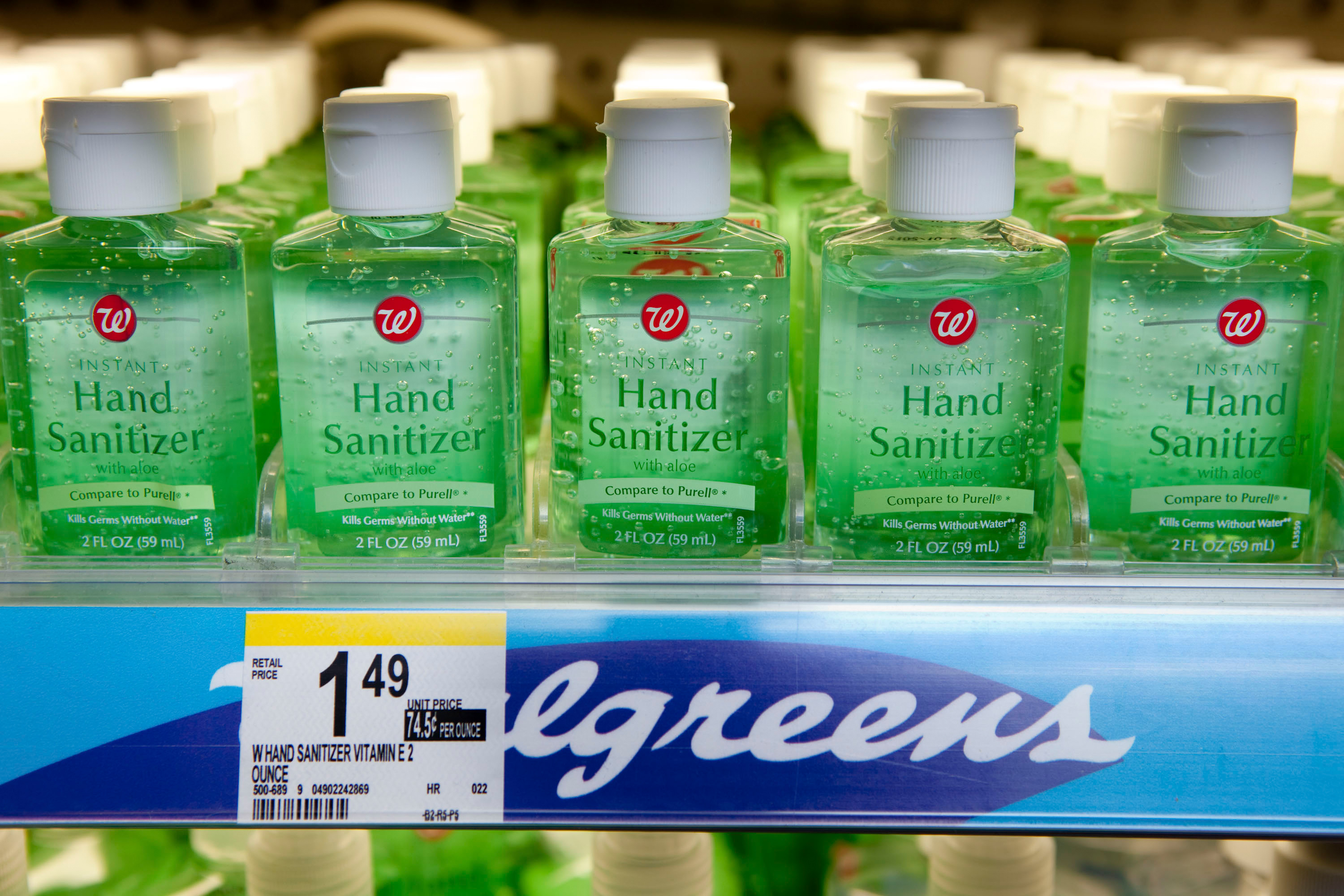 CVS and Walgreens warn there could be a shortage of hand sanitizer