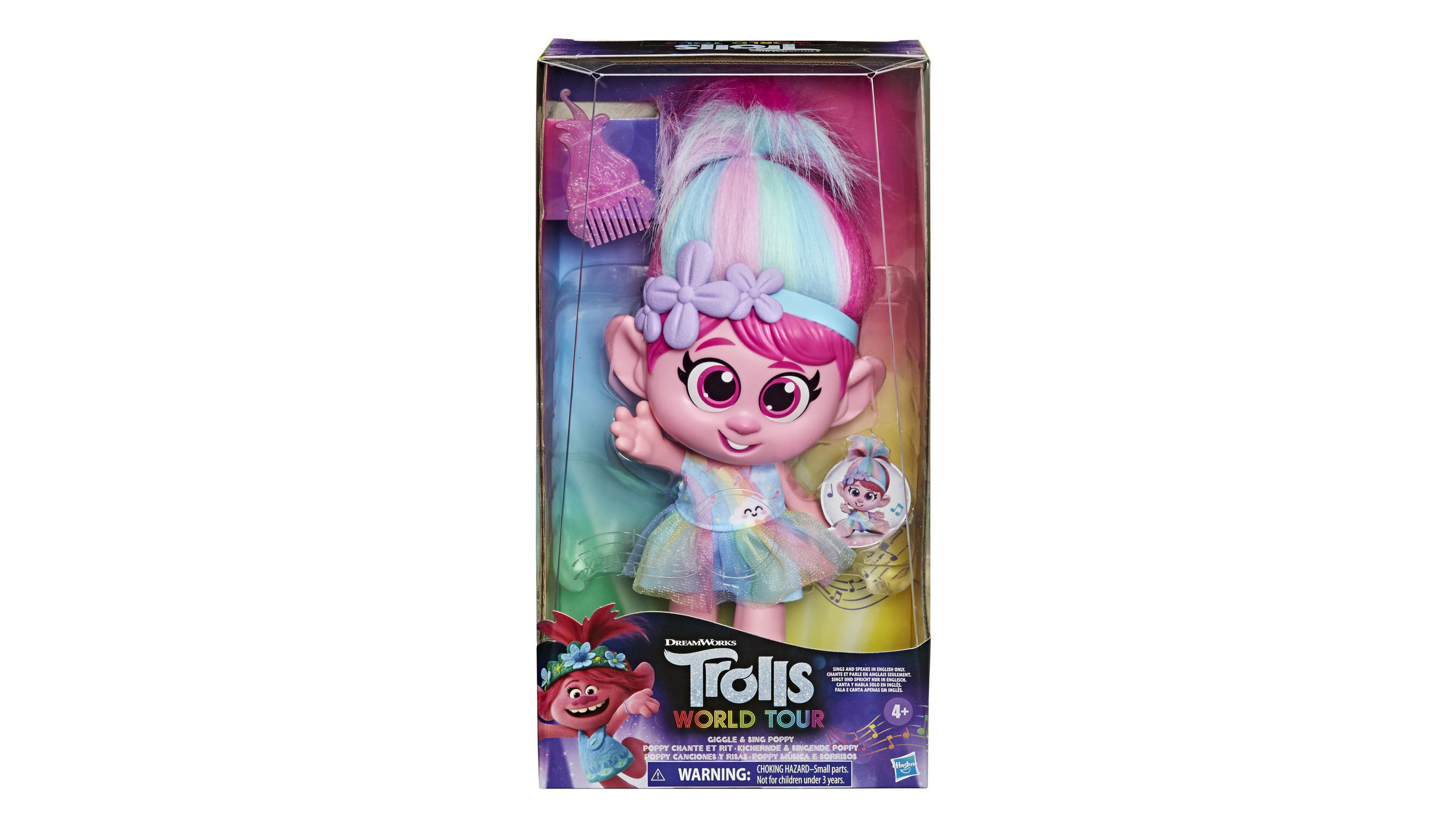 Hasbro is removing Trolls doll from stores amid complaints that button is inappropriately placed