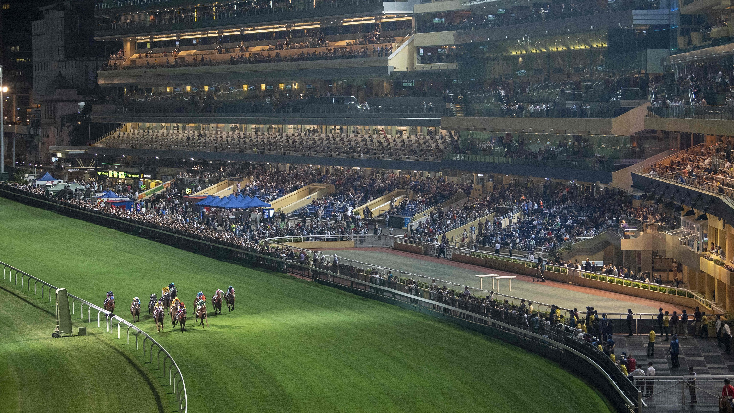 Hong Kong horse races canceled over fears of political unrest
