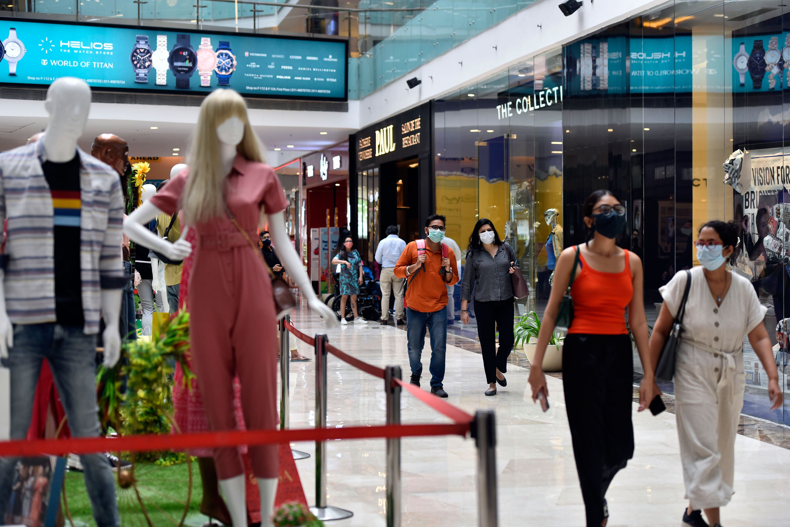 India posts record 20% GDP growth but the second Covid wave still hurt