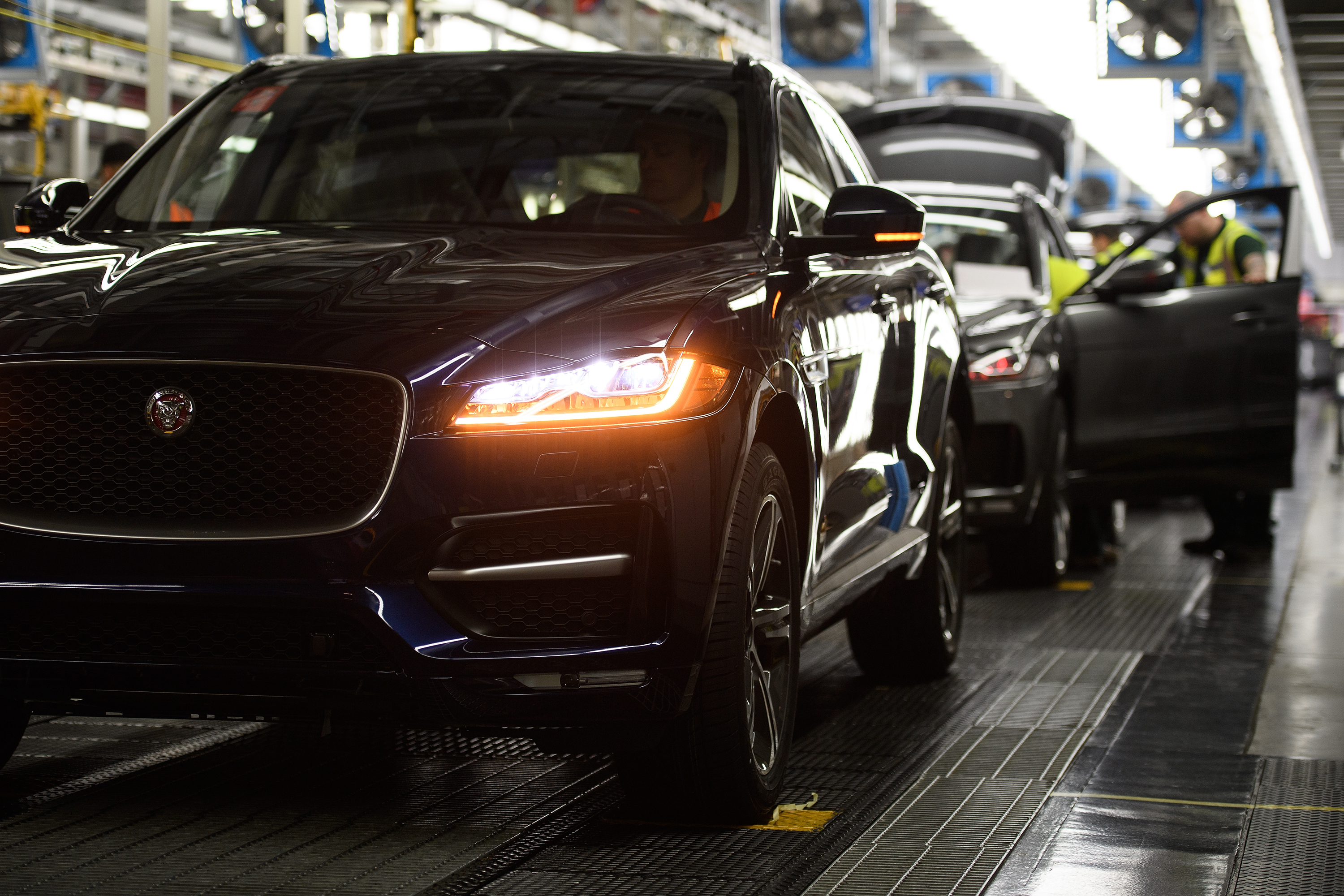 Jaguar Land Rover is flying parts out of China to keep its European factories open