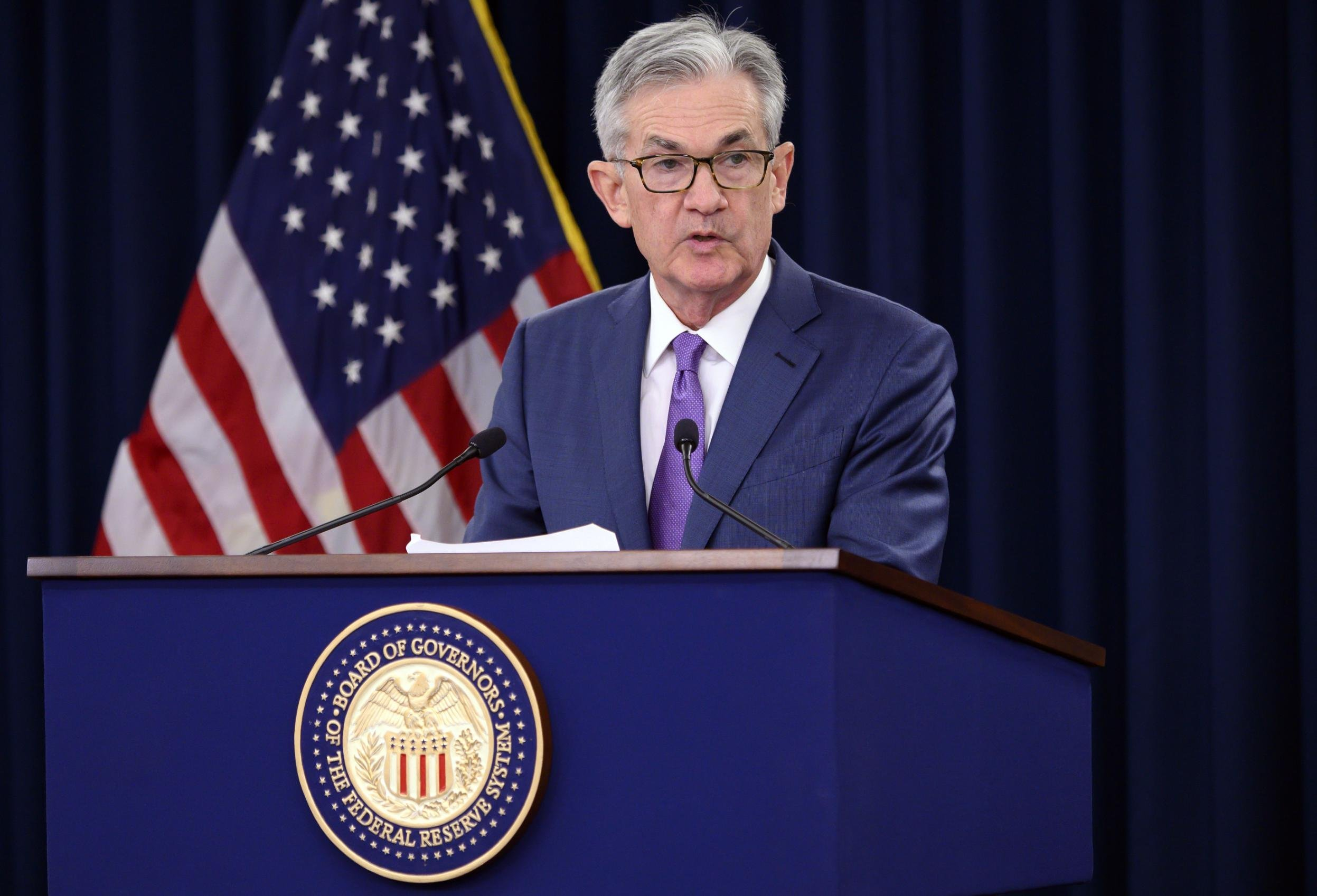 Jerome Powell faces his biggest test yet in high-profile speech