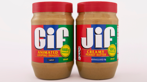 Image for Jif settles the great debate with a GIF peanut butter jar