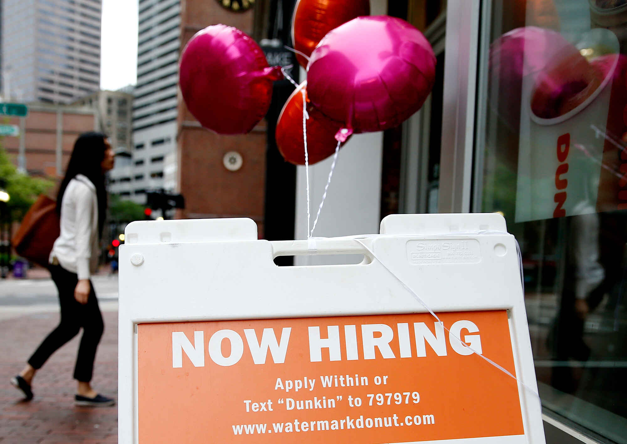US employers added 943,000 jobs in July, signaling a strong labor market