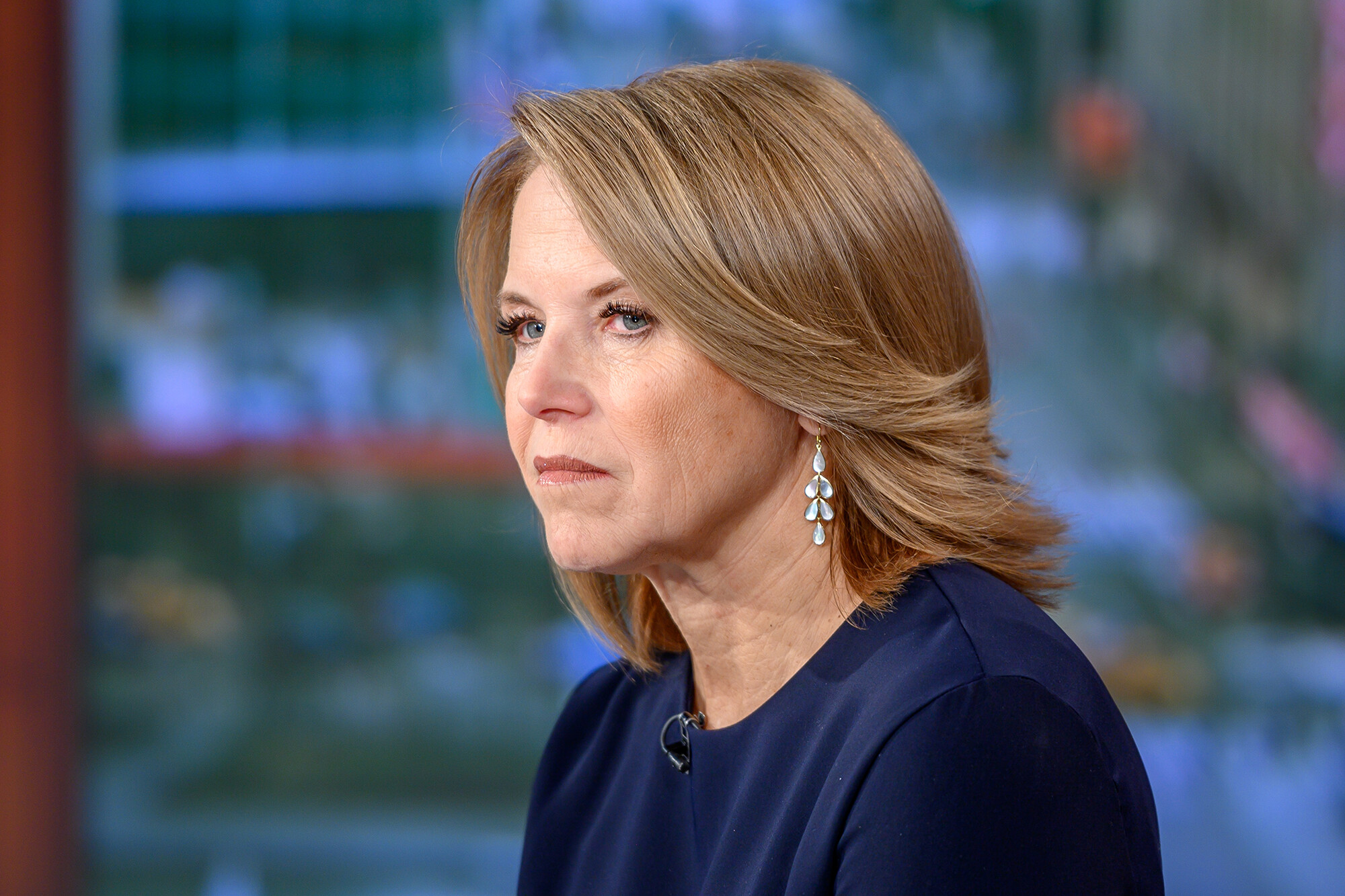 Katie Couric says she has no relationship with Matt Lauer