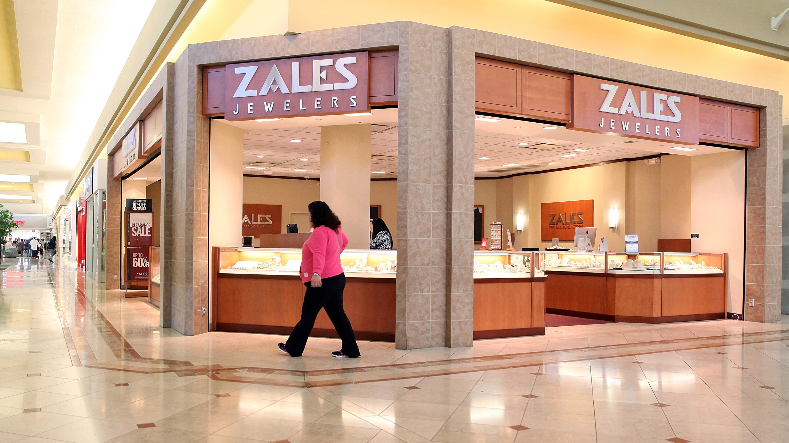 Stock of Kay and Zales' parent climbs over 40% on holiday sales growth