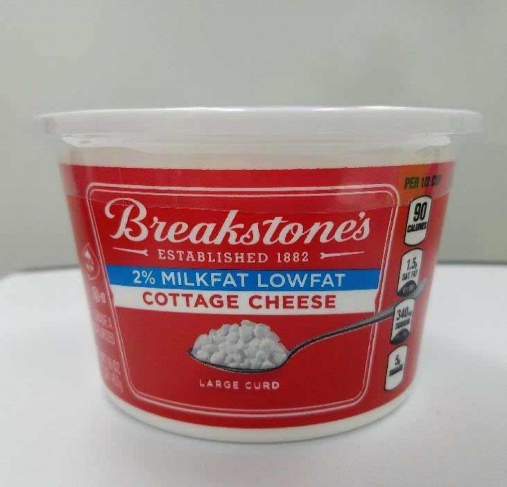 Breakstone's Cottage Cheese recalled for possible contamination by plastic and metal pieces