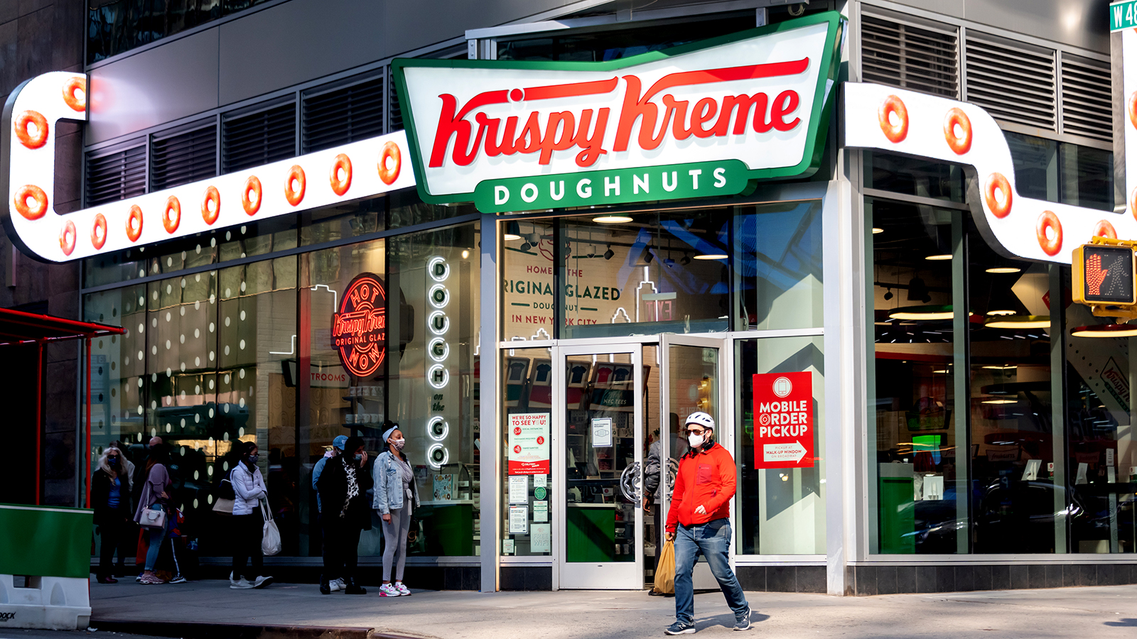 Krispy Kreme files IPO paperwork