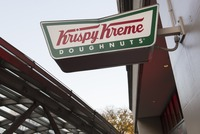 Krispy Kreme is giving out a free dozen doughnuts to healthcare workers