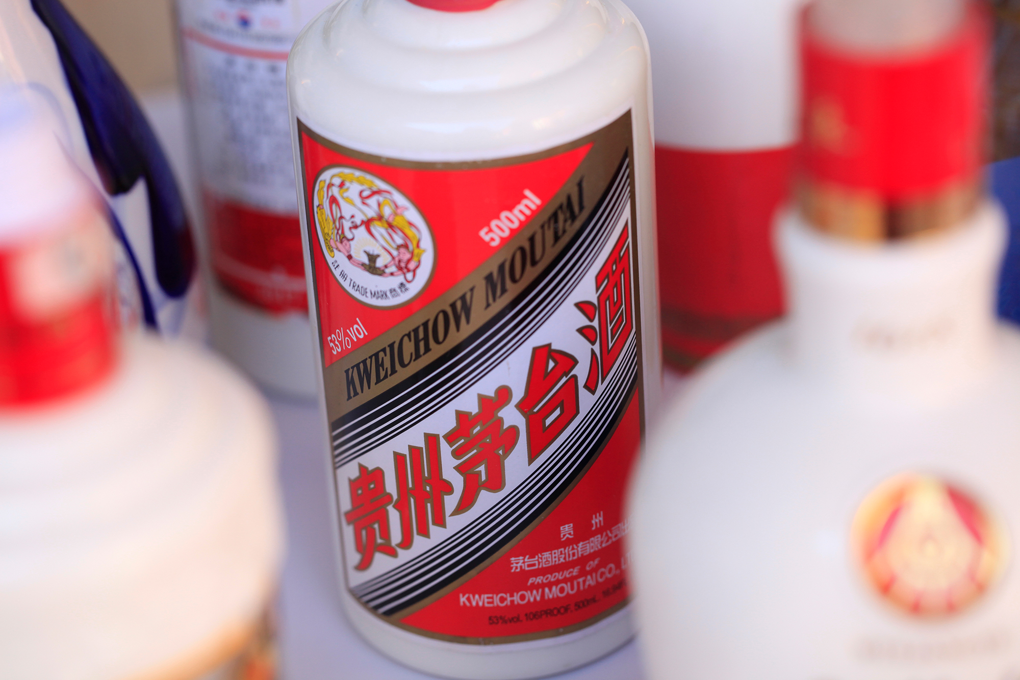 It's 53% alcohol and tastes like fire. Here's how this liquor brand took over China